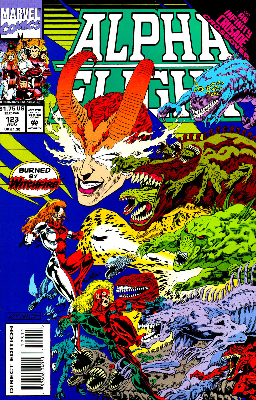 Read online Alpha Flight (1983) comic -  Issue #123 - 2