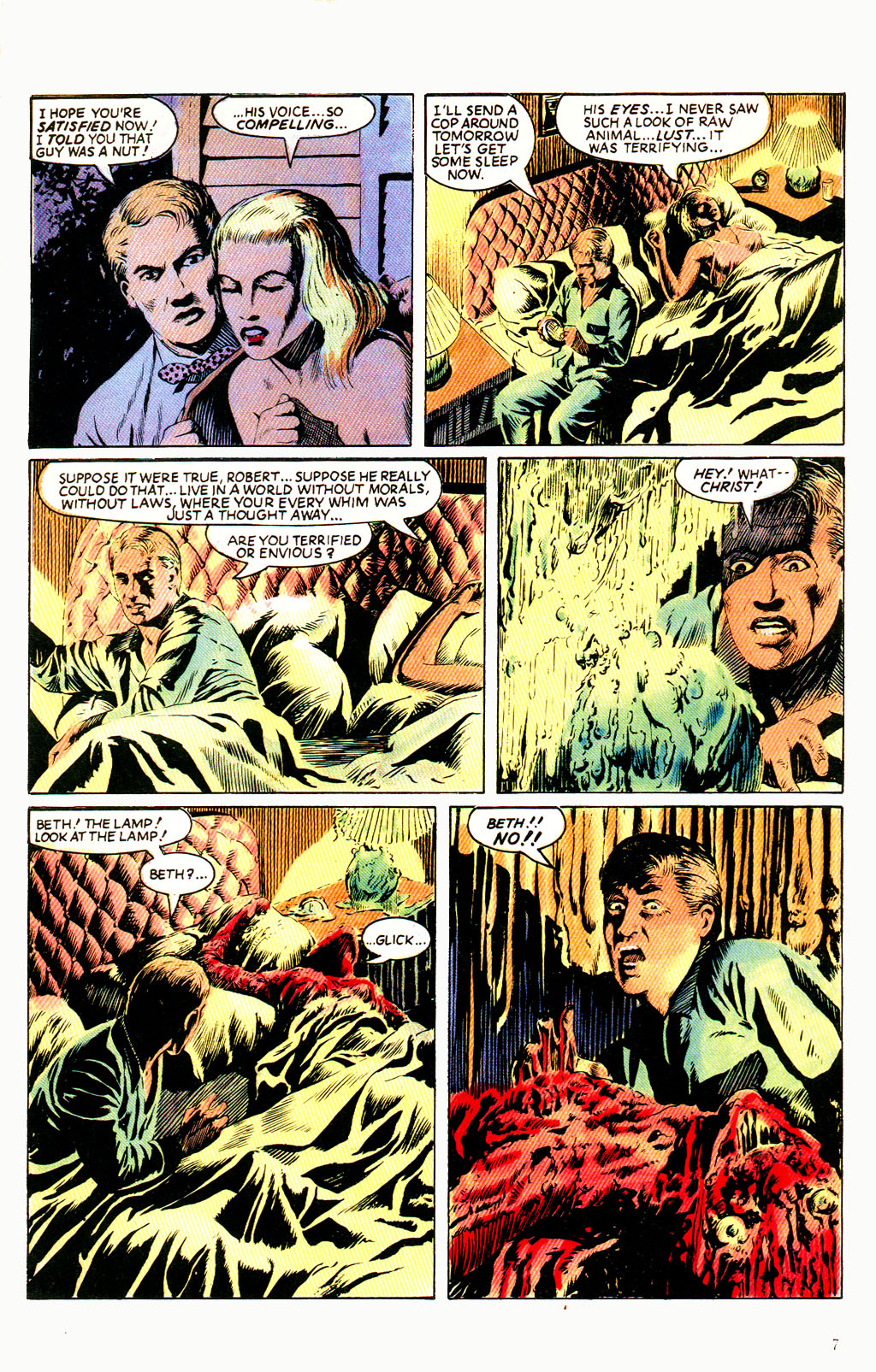 Read online Twisted Tales (1982) comic -  Issue #6 - 9