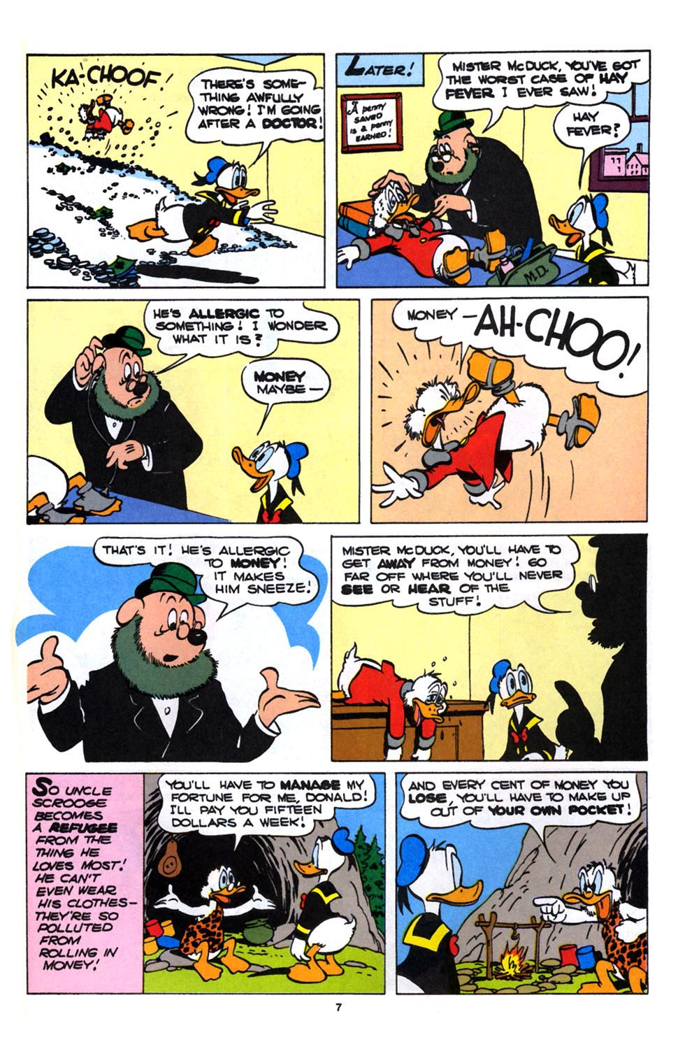 Read online Uncle Scrooge (1953) comic -  Issue #246 - 25