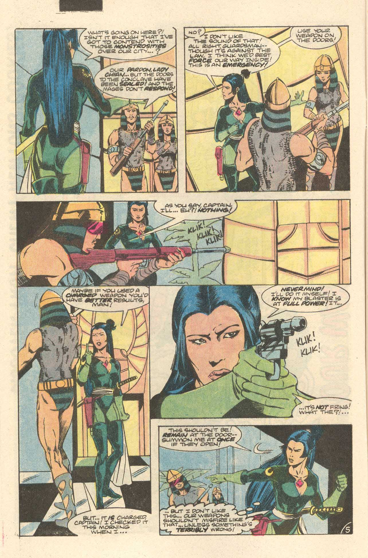 Read online Arion, Lord of Atlantis comic -  Issue #35 - 6