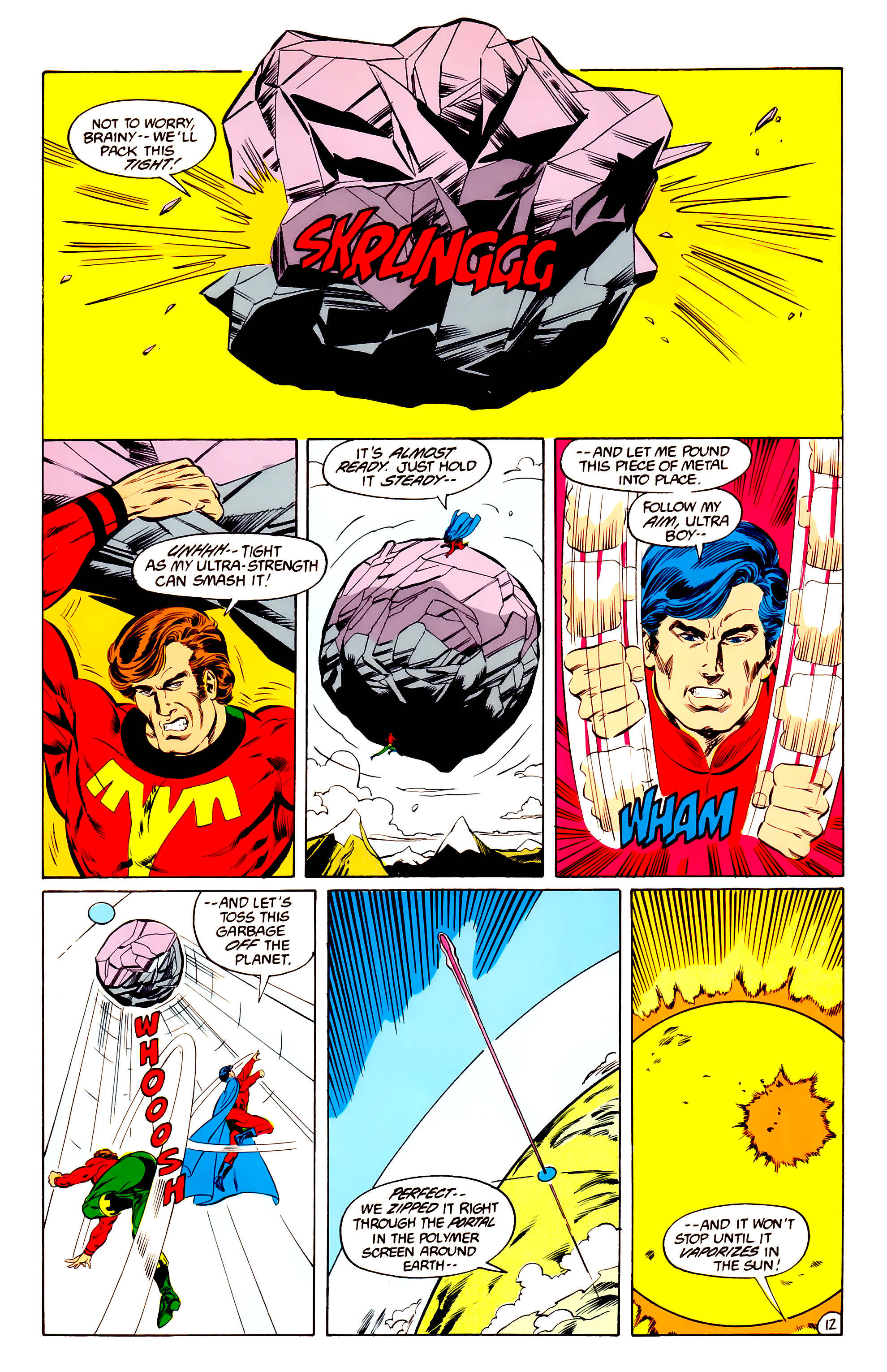 Legion of Super-Heroes (1984) 36 Page 12