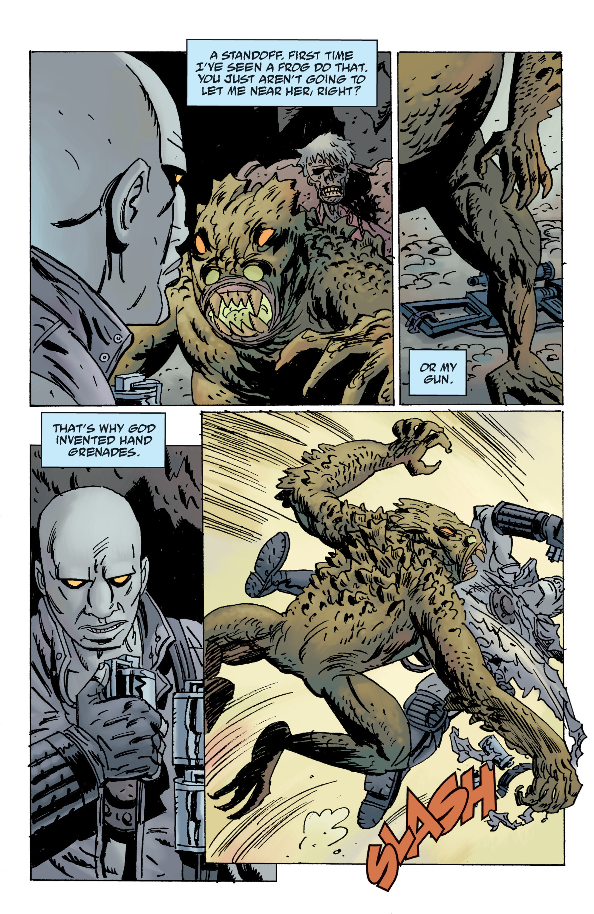 Read online B.P.R.D. (2003) comic -  Issue # TPB 12 - 19