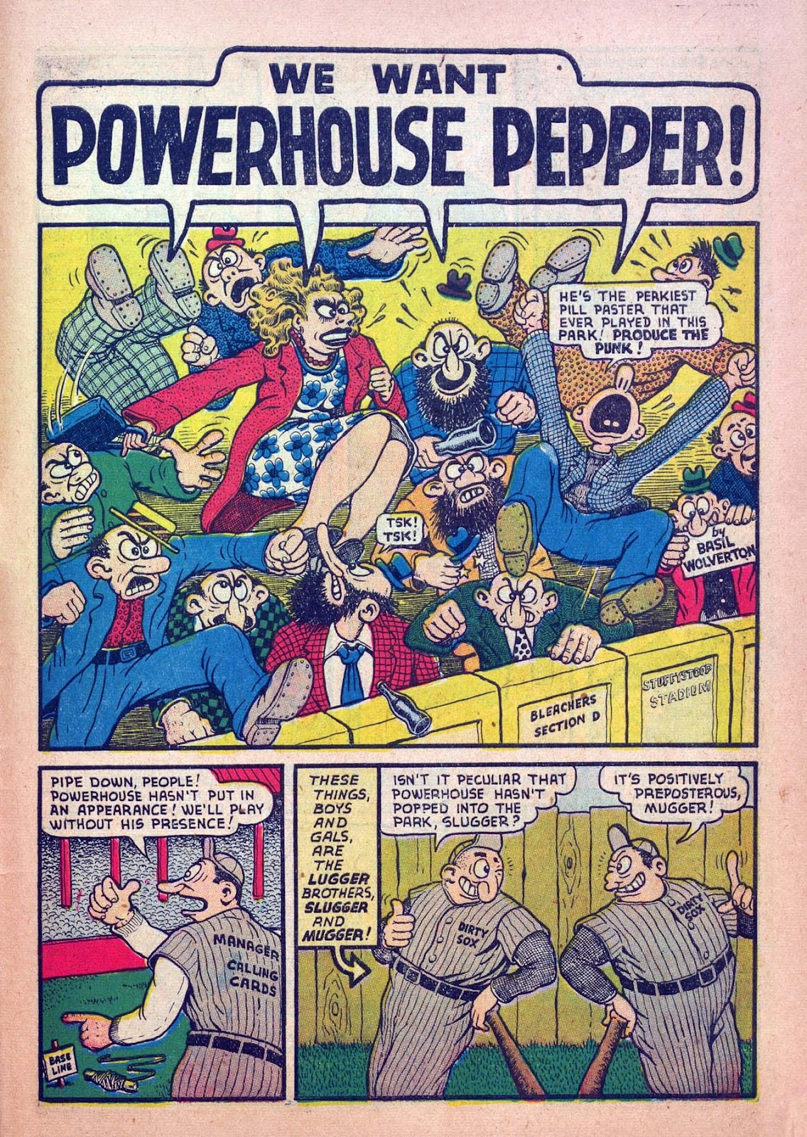 Read online Joker Comics comic -  Issue #7 - 59