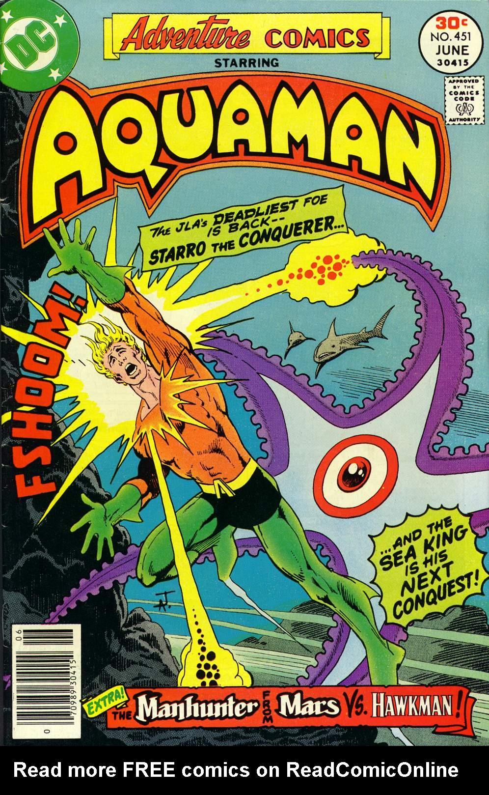 Read online Adventure Comics (1938) comic -  Issue #451 - 1