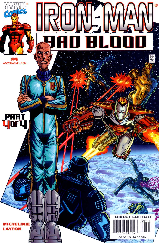 Iron Man: Bad Blood 4 Page 1