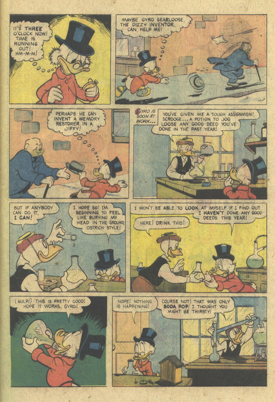 Read online Uncle Scrooge (1953) comic -  Issue #137 - 29