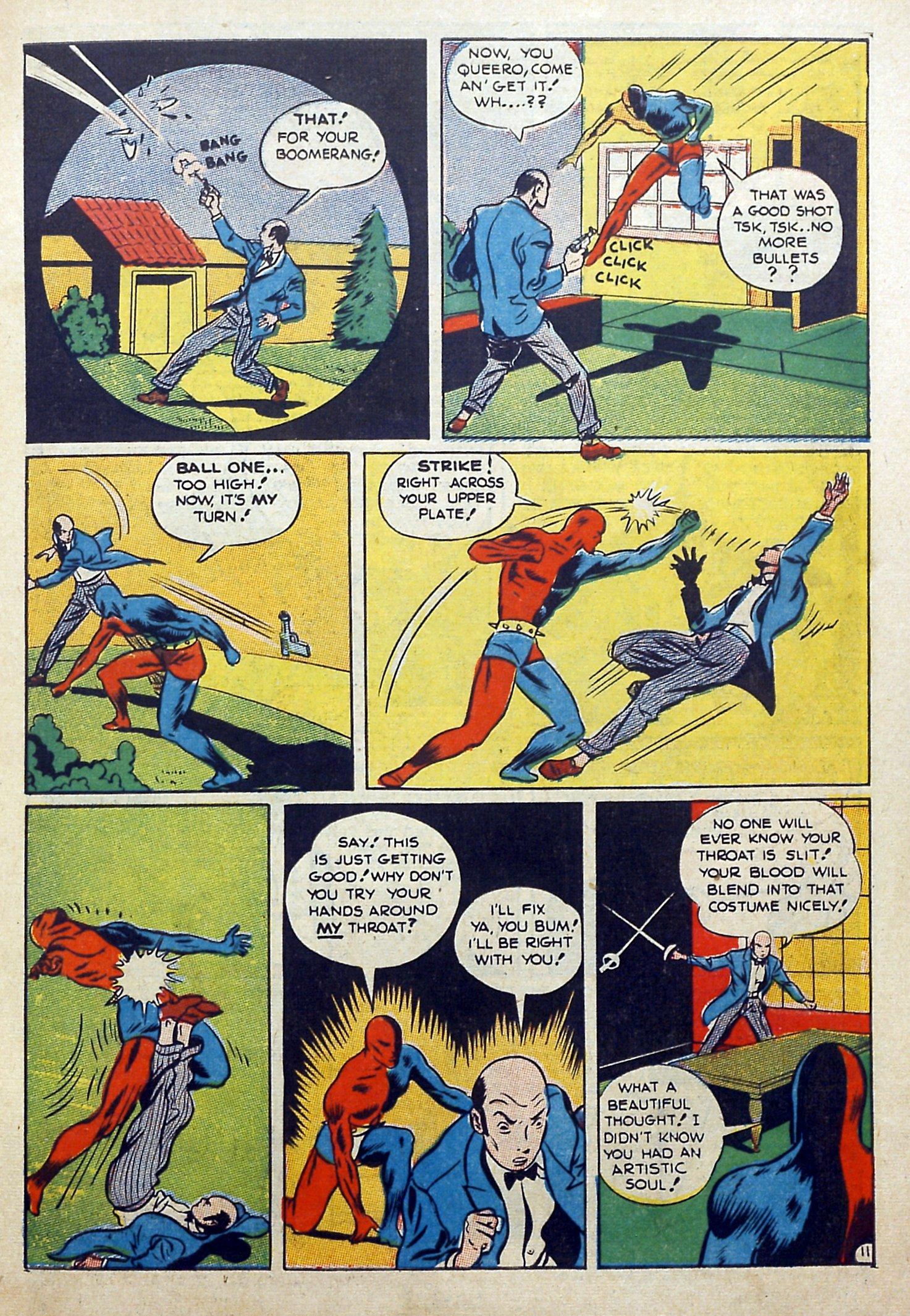 Daredevil (1941) issue 3 - Page 13