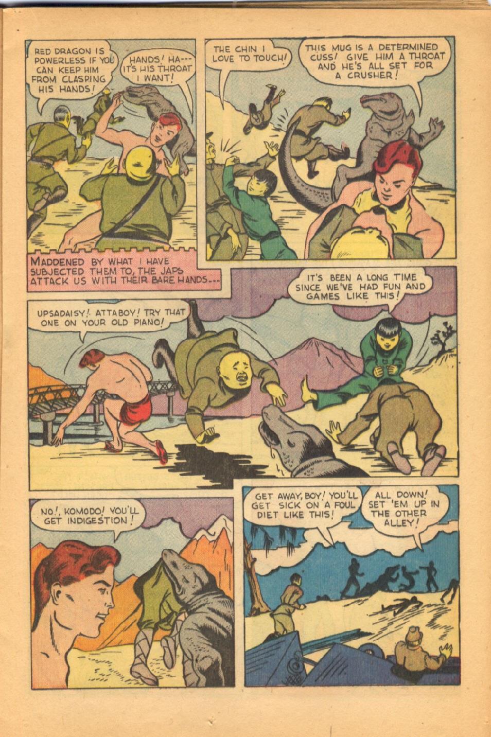 Read online Super-Magician Comics comic -  Issue #38 - 25