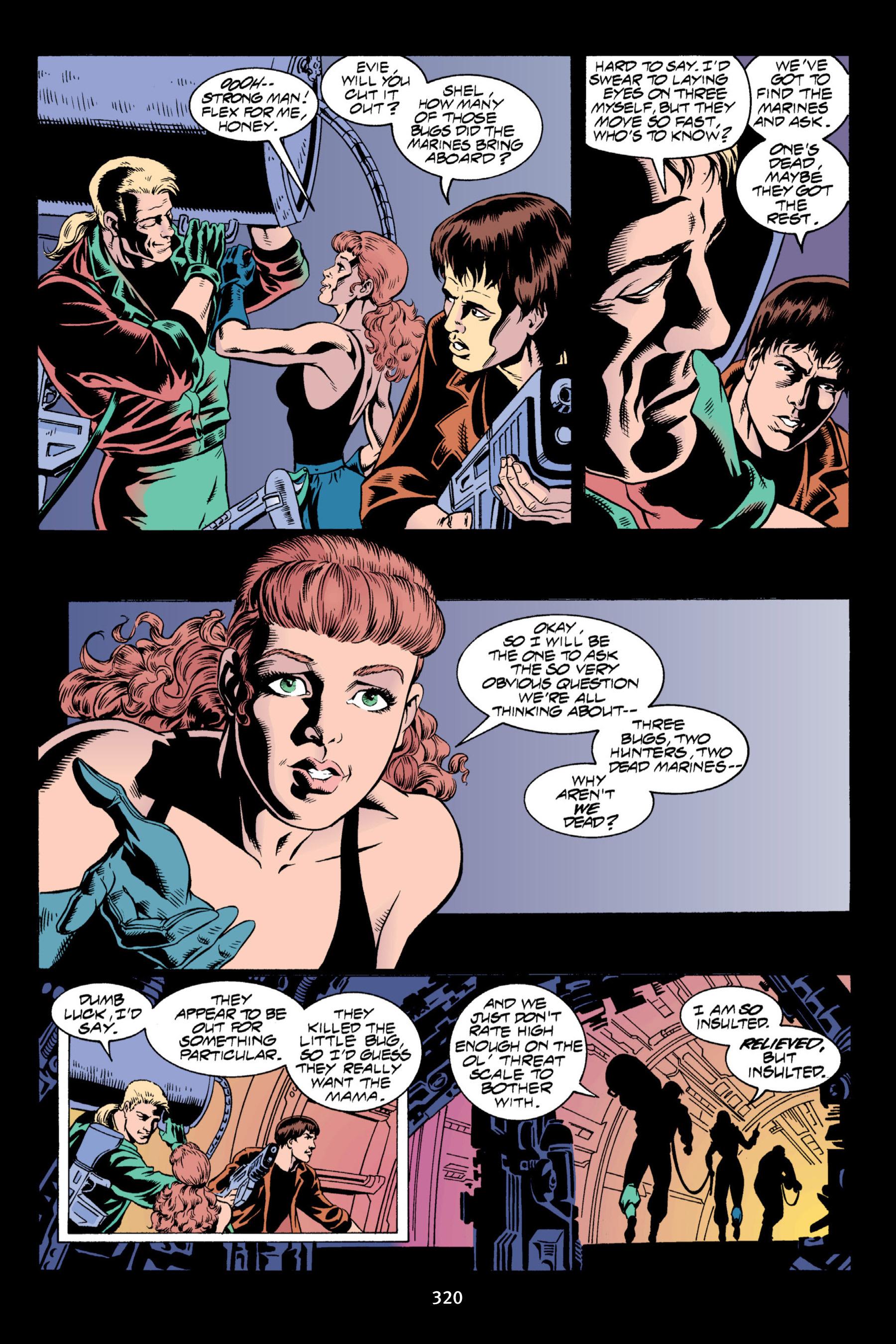 Read online Aliens vs. Predator Omnibus comic -  Issue # _TPB 2 Part 3 - 95