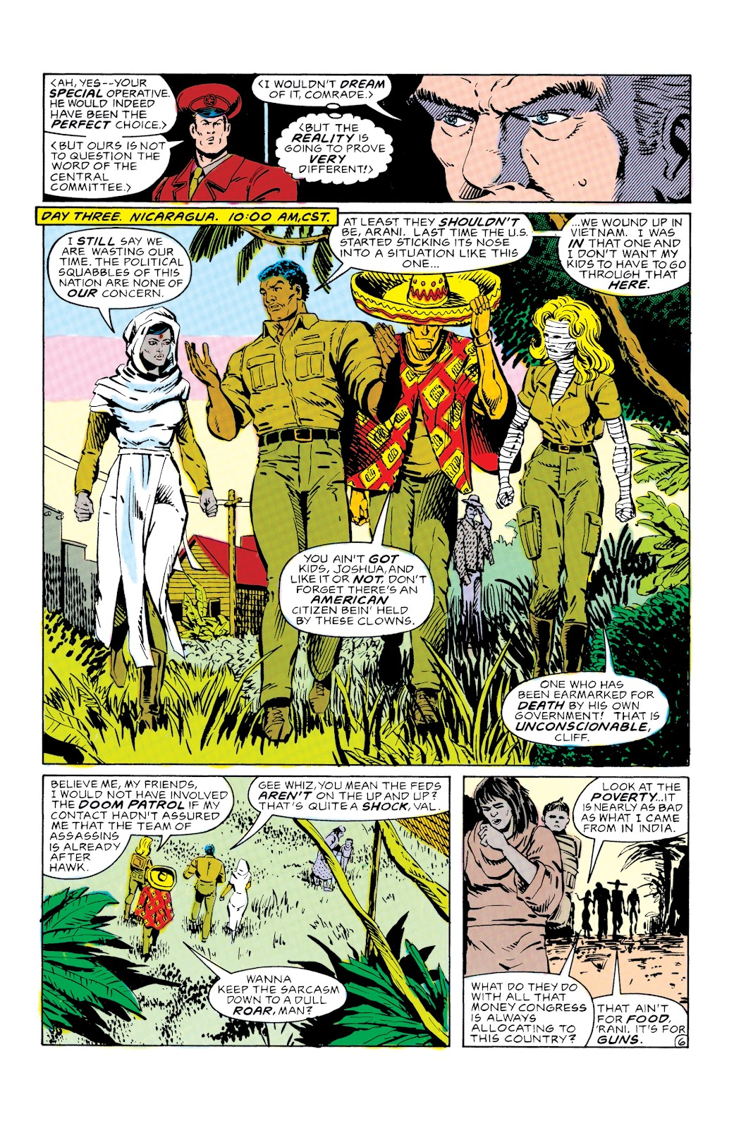 Doom Patrol and Suicide Squad Special issue Special 1 - Page 7