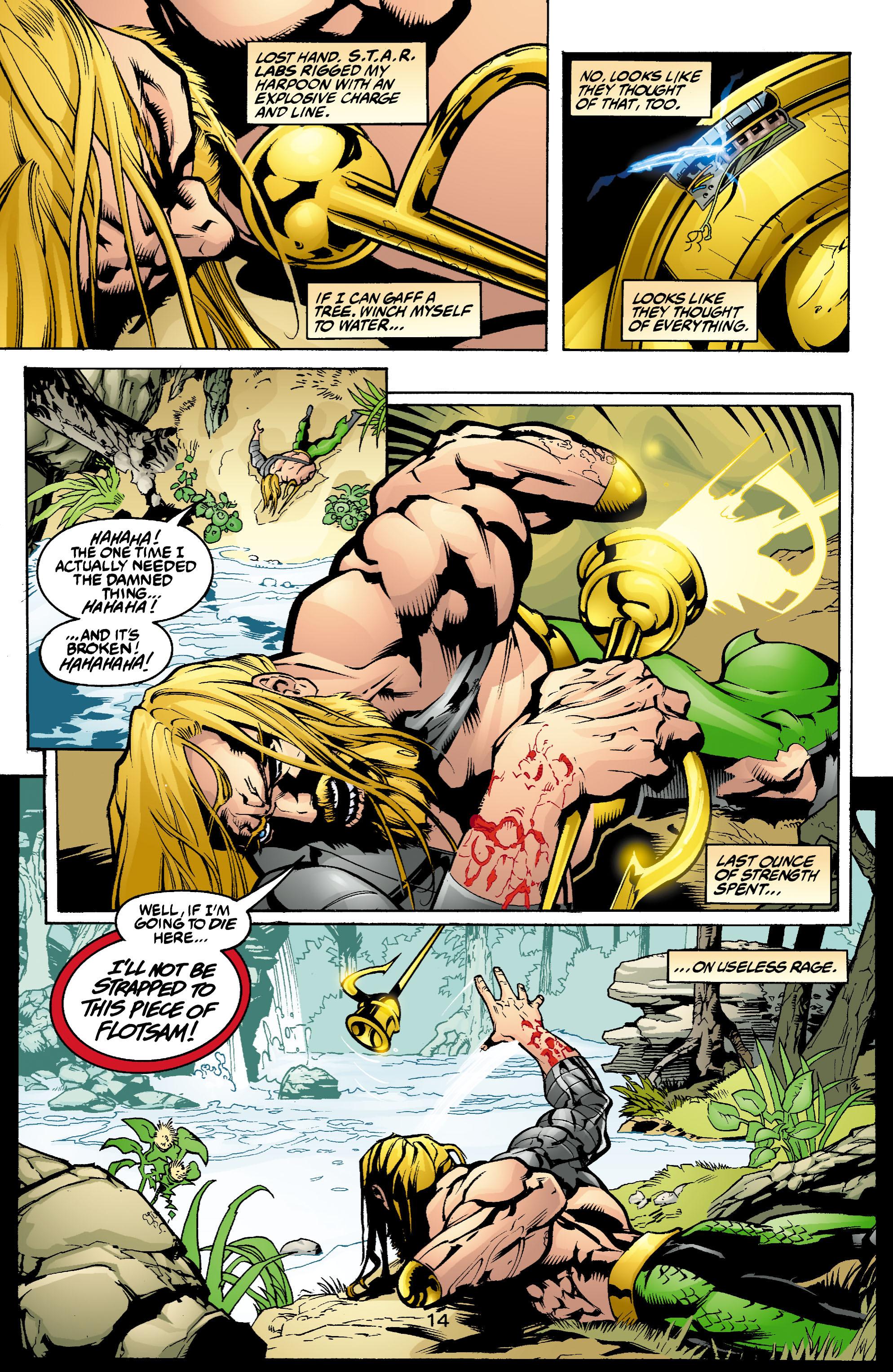 Read online Aquaman (2003) comic -  Issue #1 - 15