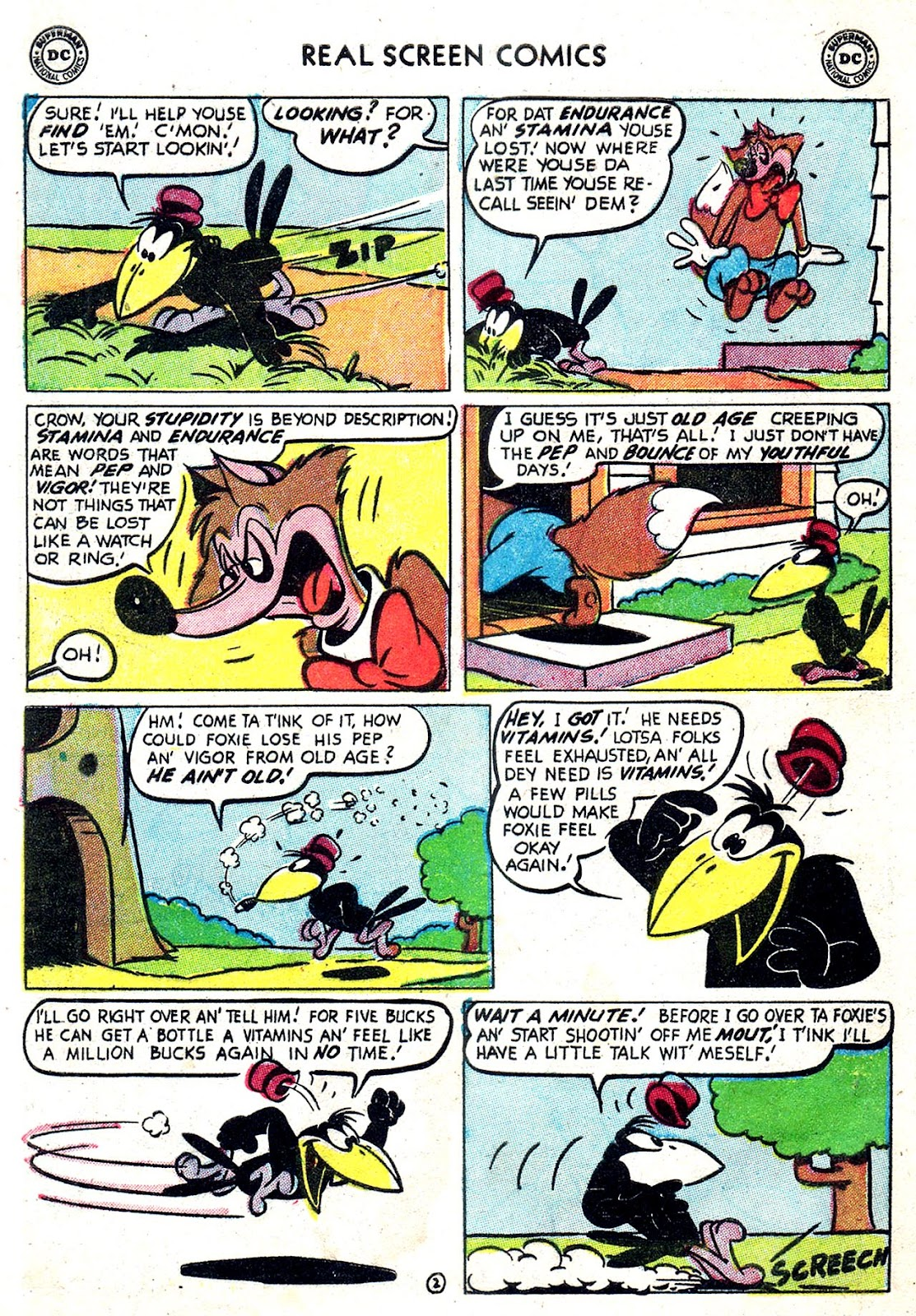Real Screen Comics issue 49 - Page 4