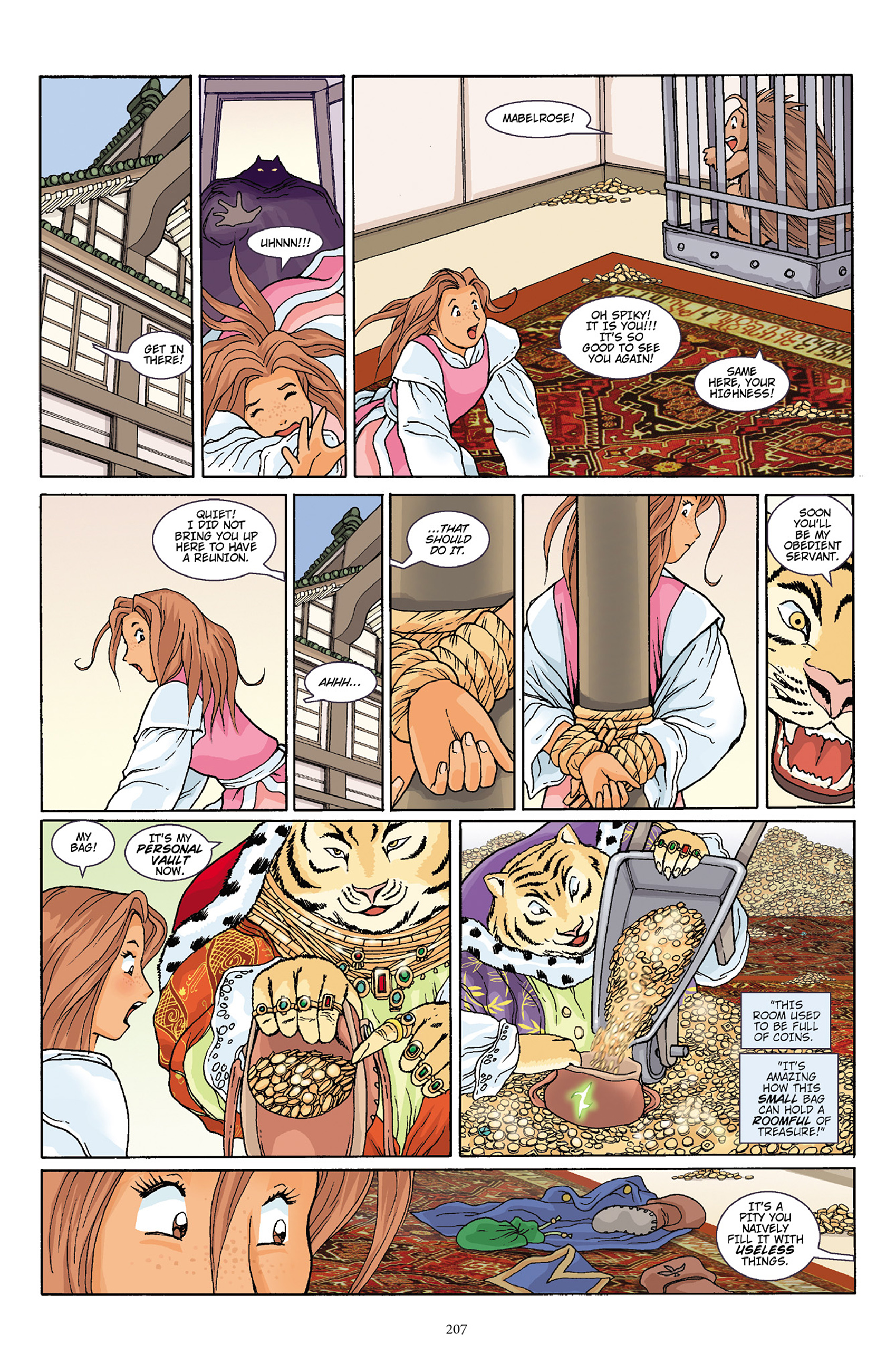 Read online Courageous Princess comic -  Issue # TPB 1 - 204
