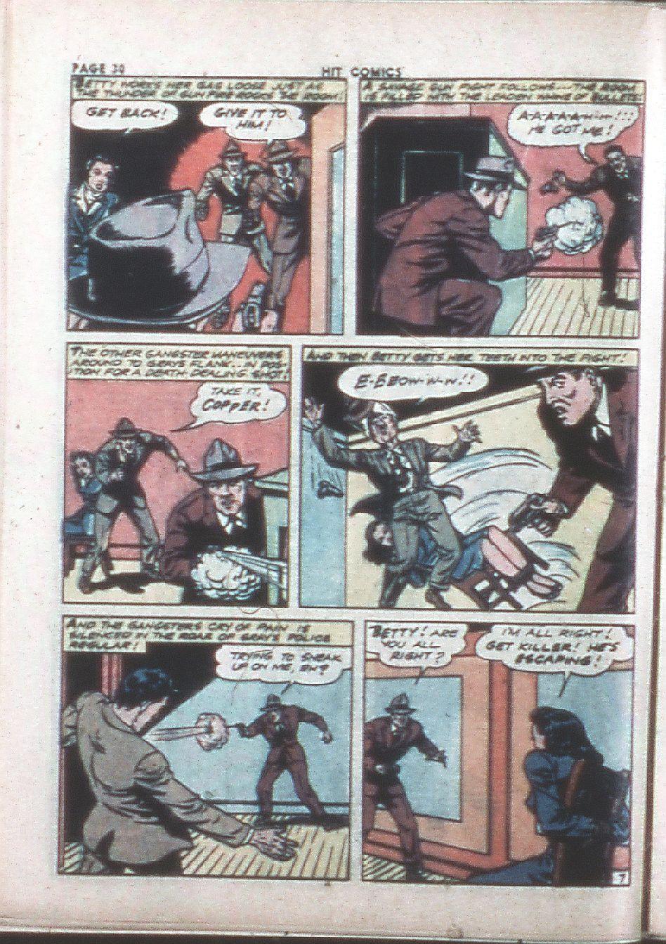 Read online Hit Comics comic -  Issue #26 - 32