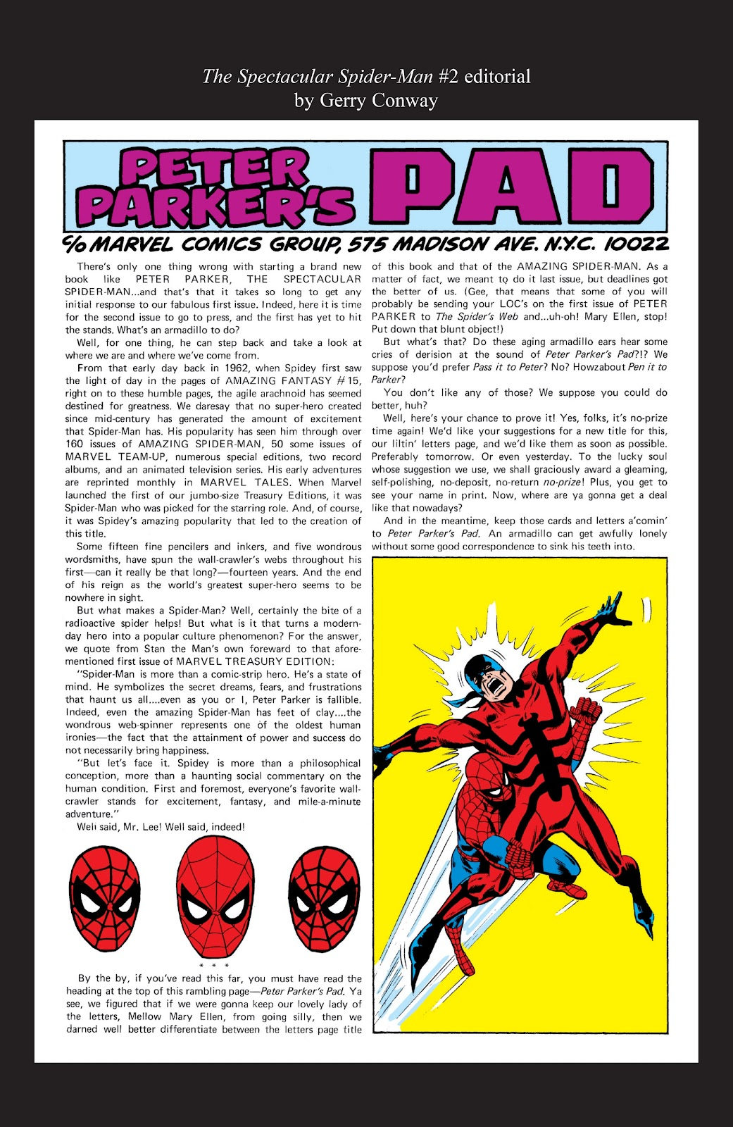Read online Marvel Masterworks: The Spectacular Spider-Man comic -  Issue # TPB (Part 3) - 65