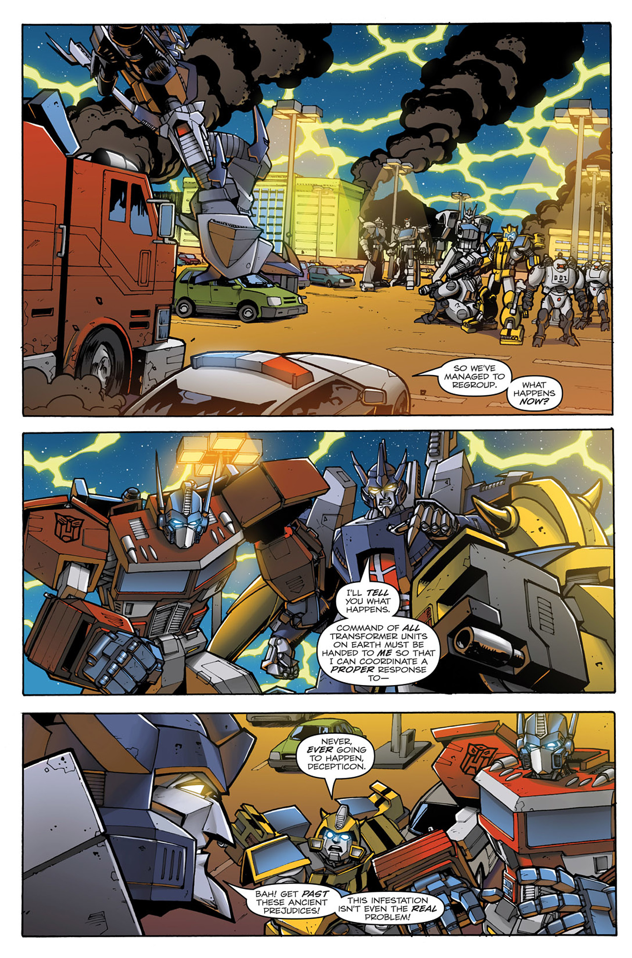 Read online Transformers: Infestation comic -  Issue #2 - 16