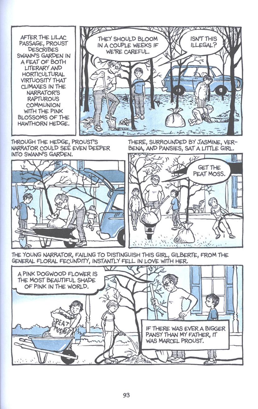 Read online Fun Home: A Family Tragicomic comic -  Issue # TPB - 100