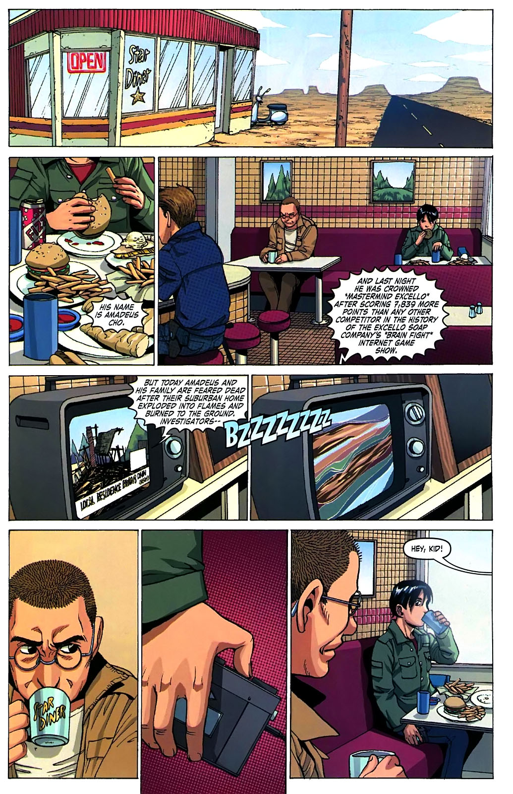 Read online Amazing Fantasy (2004) comic -  Issue #15 - 4