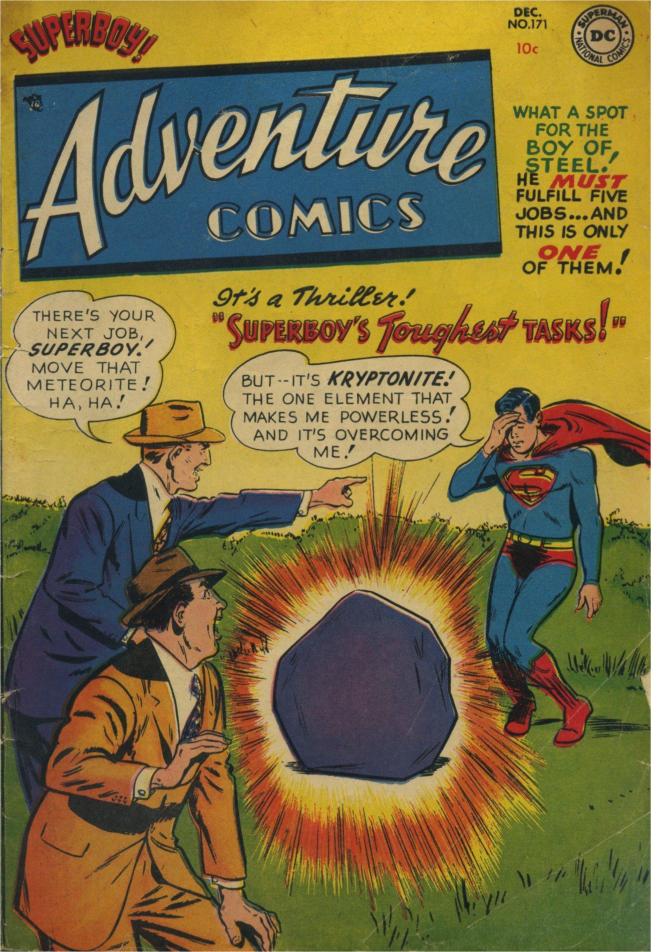 Read online Adventure Comics (1938) comic -  Issue #171 - 1