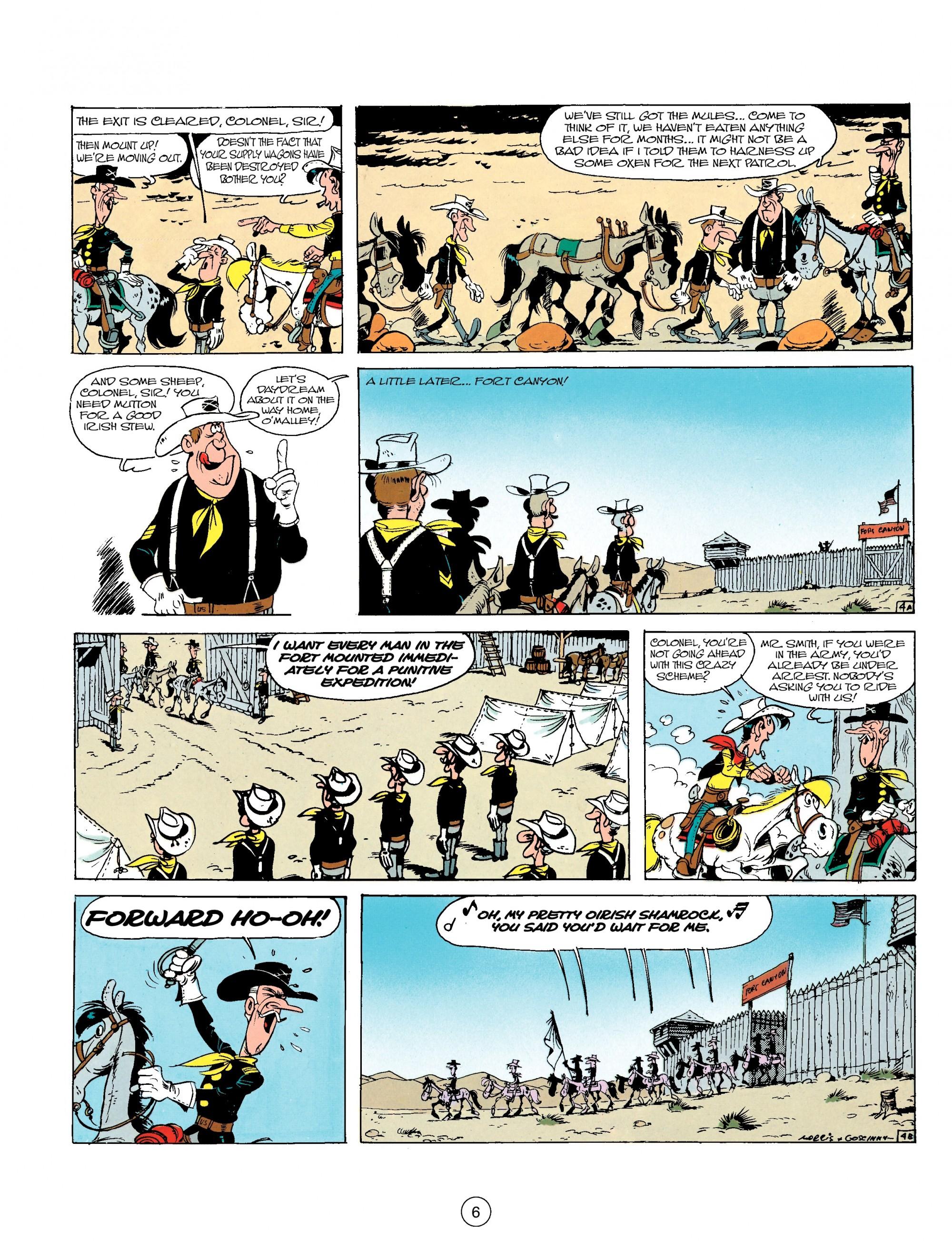 Read online A Lucky Luke Adventure comic -  Issue #17 - 6