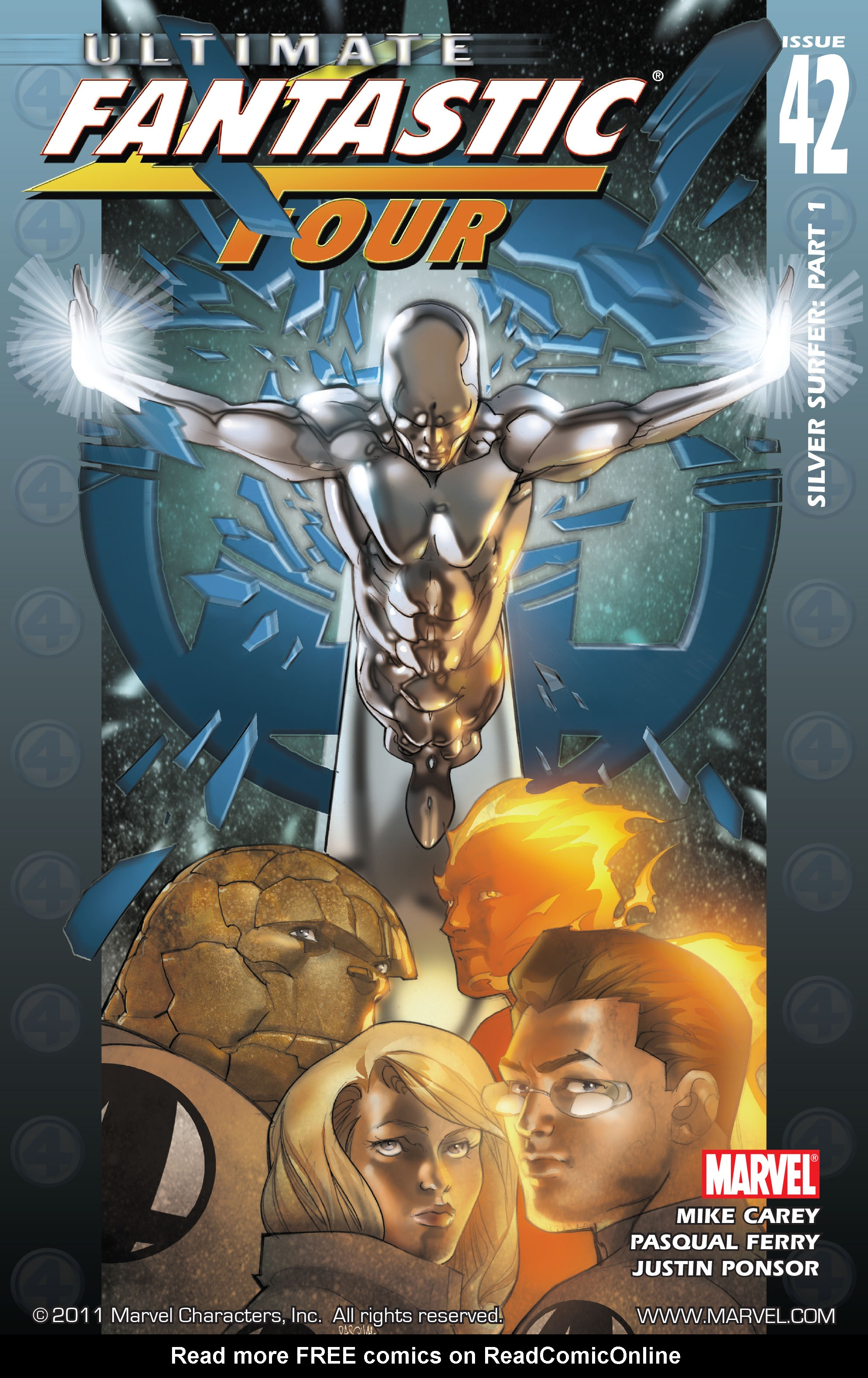 Read online Ultimate Fantastic Four (2004) comic -  Issue #42 - 1
