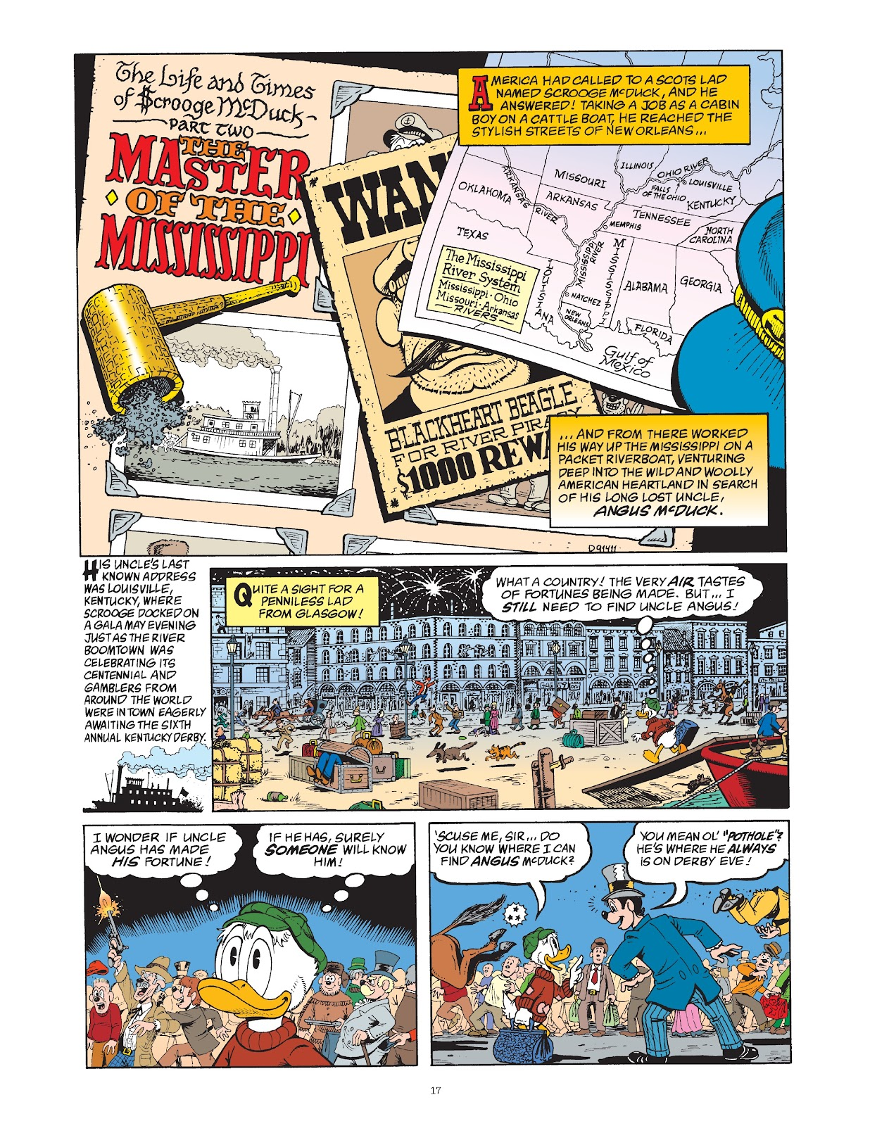 Read online The Complete Life and Times of Scrooge McDuck comic -  Issue # TPB 1 (Part 1) - 24