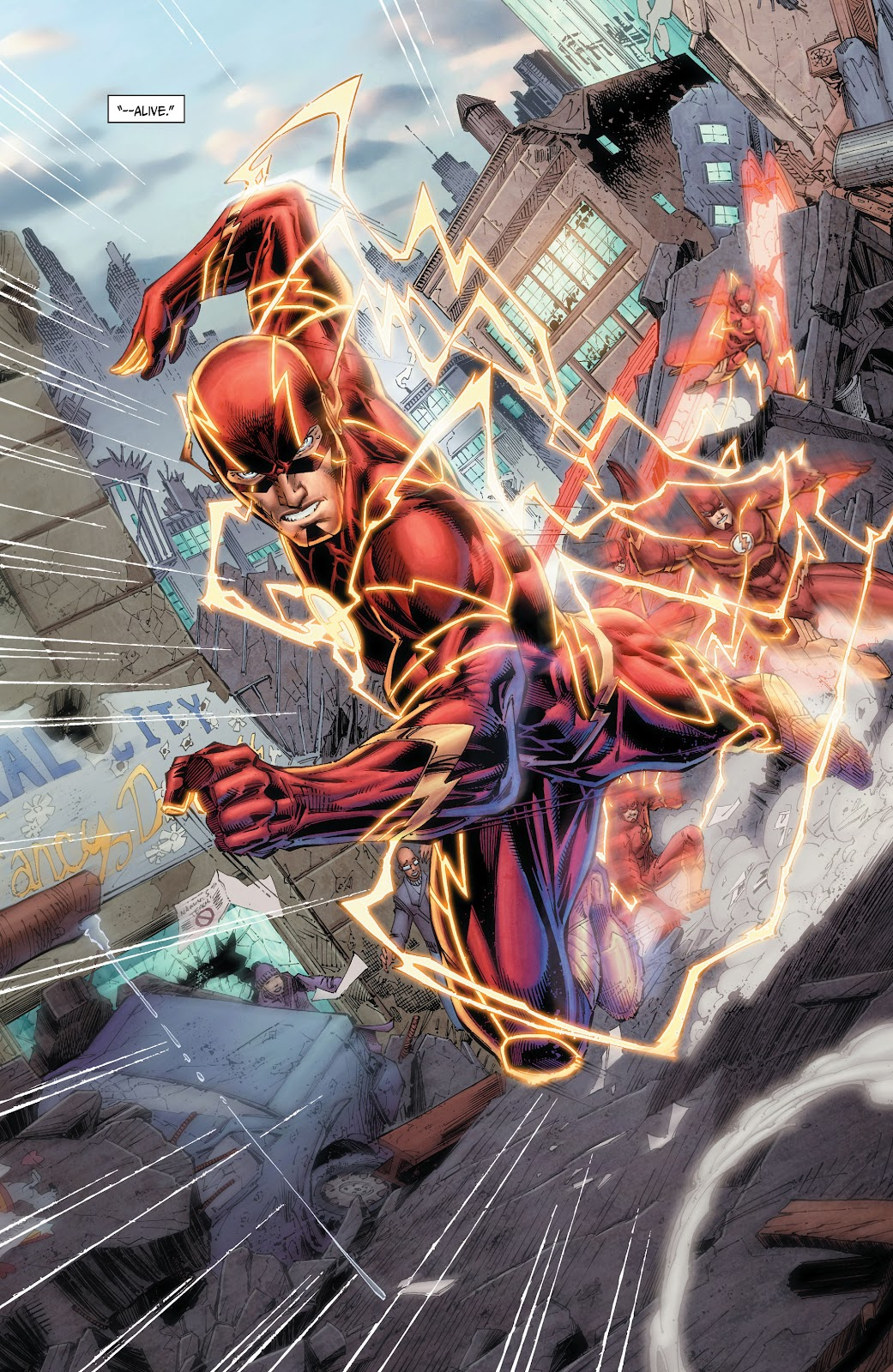 Read online The Flash (2011) comic -  Issue # _TPB 6 (Part 1) - 11
