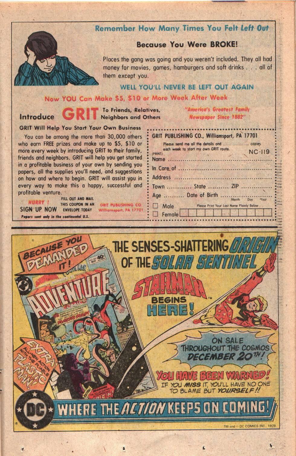 Read online Adventure Comics (1938) comic -  Issue #469 - 23