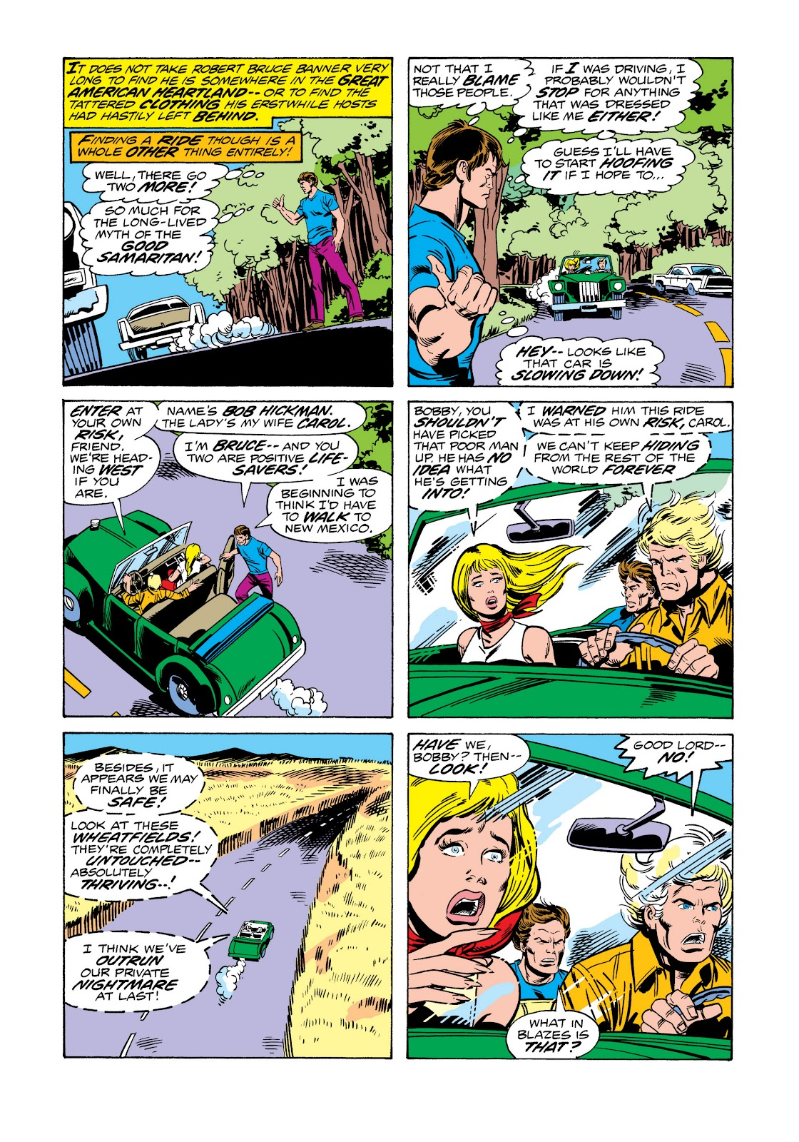Read online Marvel Masterworks: The Incredible Hulk comic -  Issue # TPB 11 (Part 2) - 100