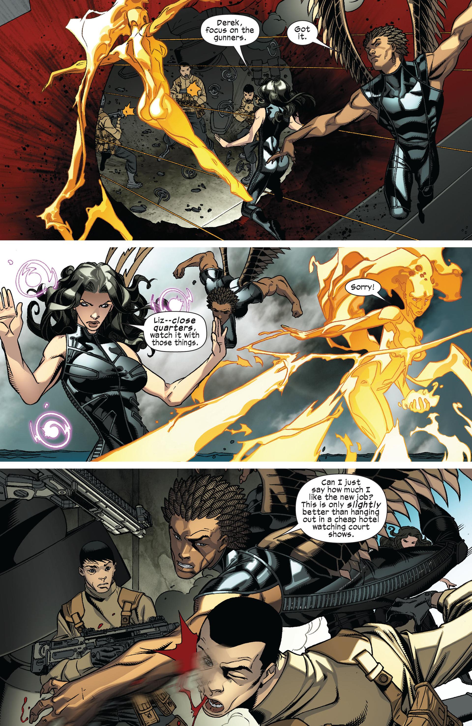 Read online Ultimate Comics X-Men comic -  Issue #8 - 10