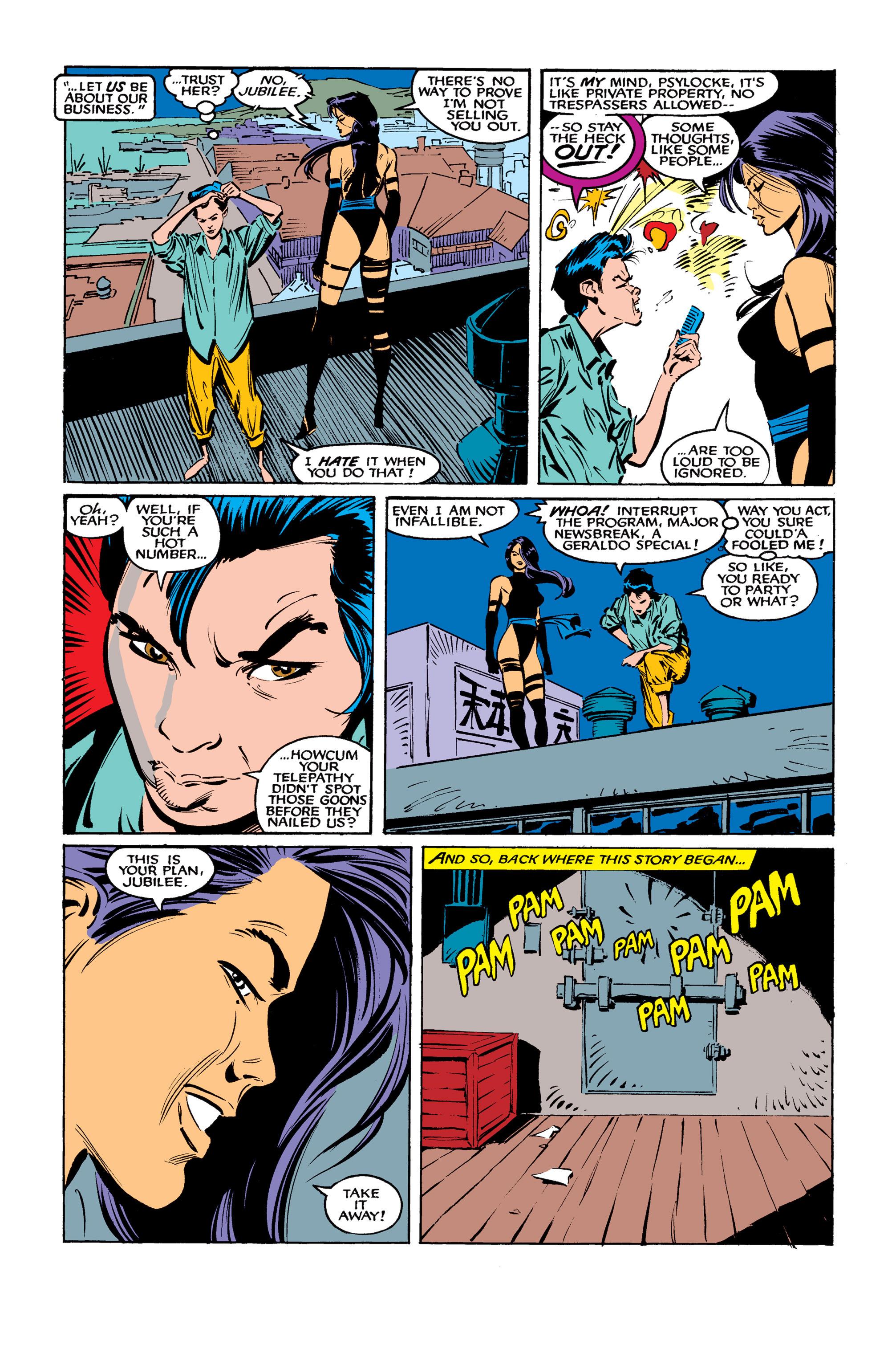 Read online Uncanny X-Men (1963) comic -  Issue #261 - 16