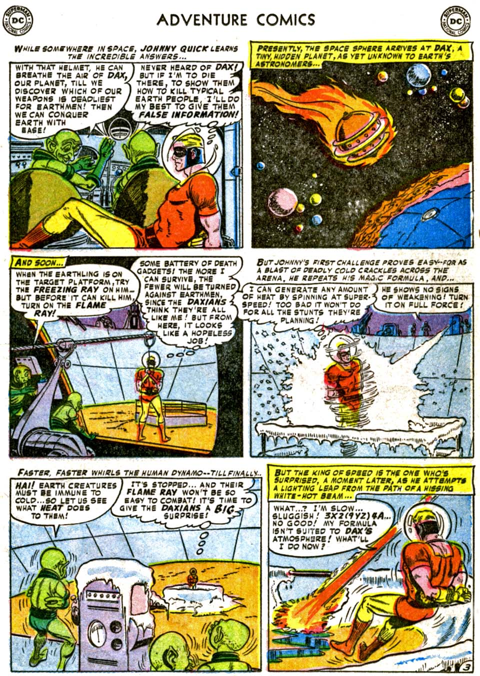 Read online Adventure Comics (1938) comic -  Issue #177 - 27