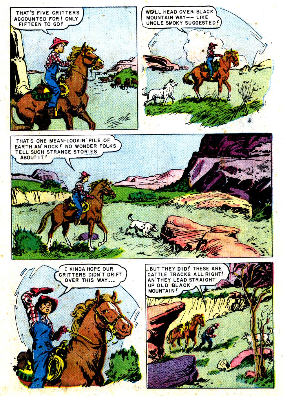 Four Color Comics issue 287 - Page 7