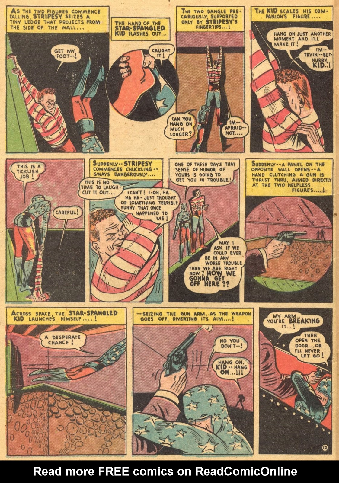 Star Spangled Comics (1941) issue 1 - Page 14