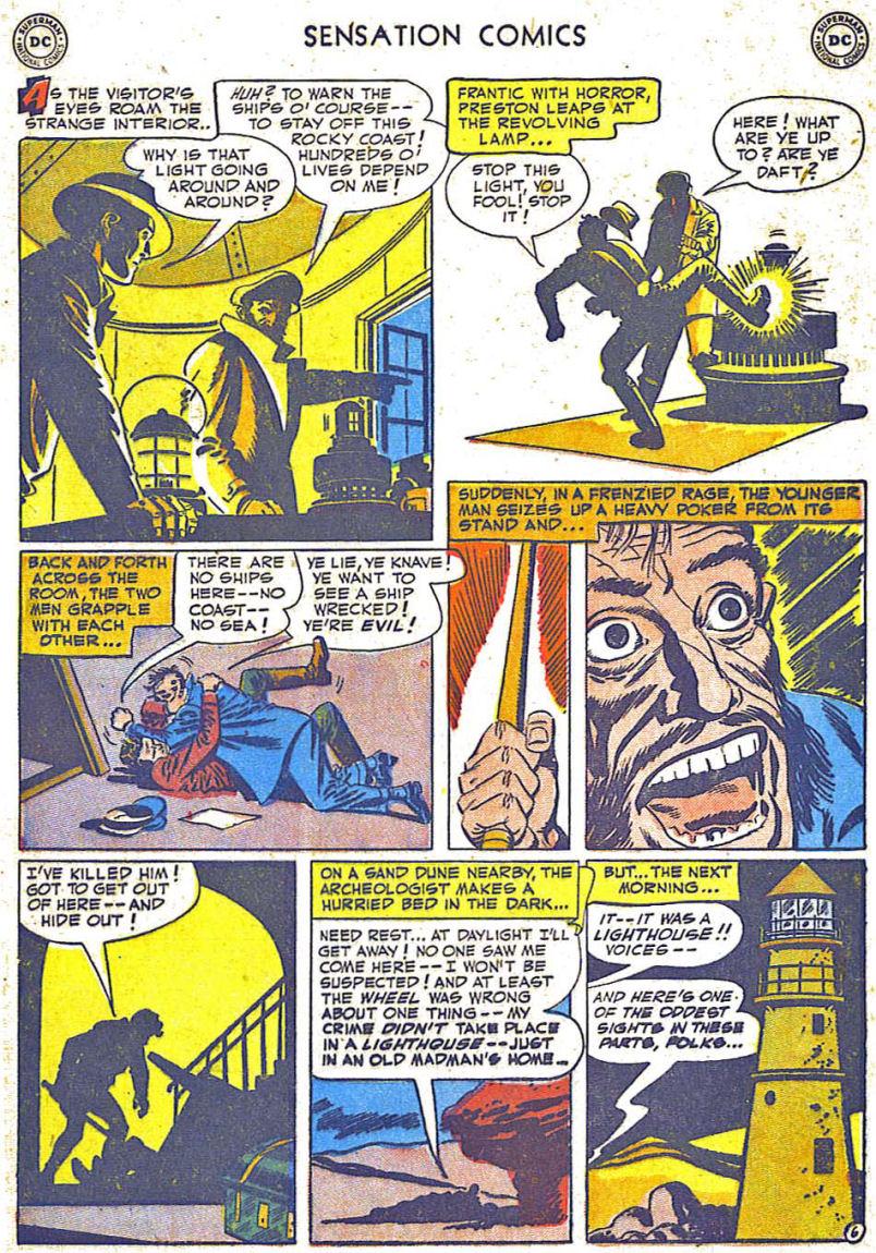 Read online Sensation (Mystery) Comics comic -  Issue #108 - 8