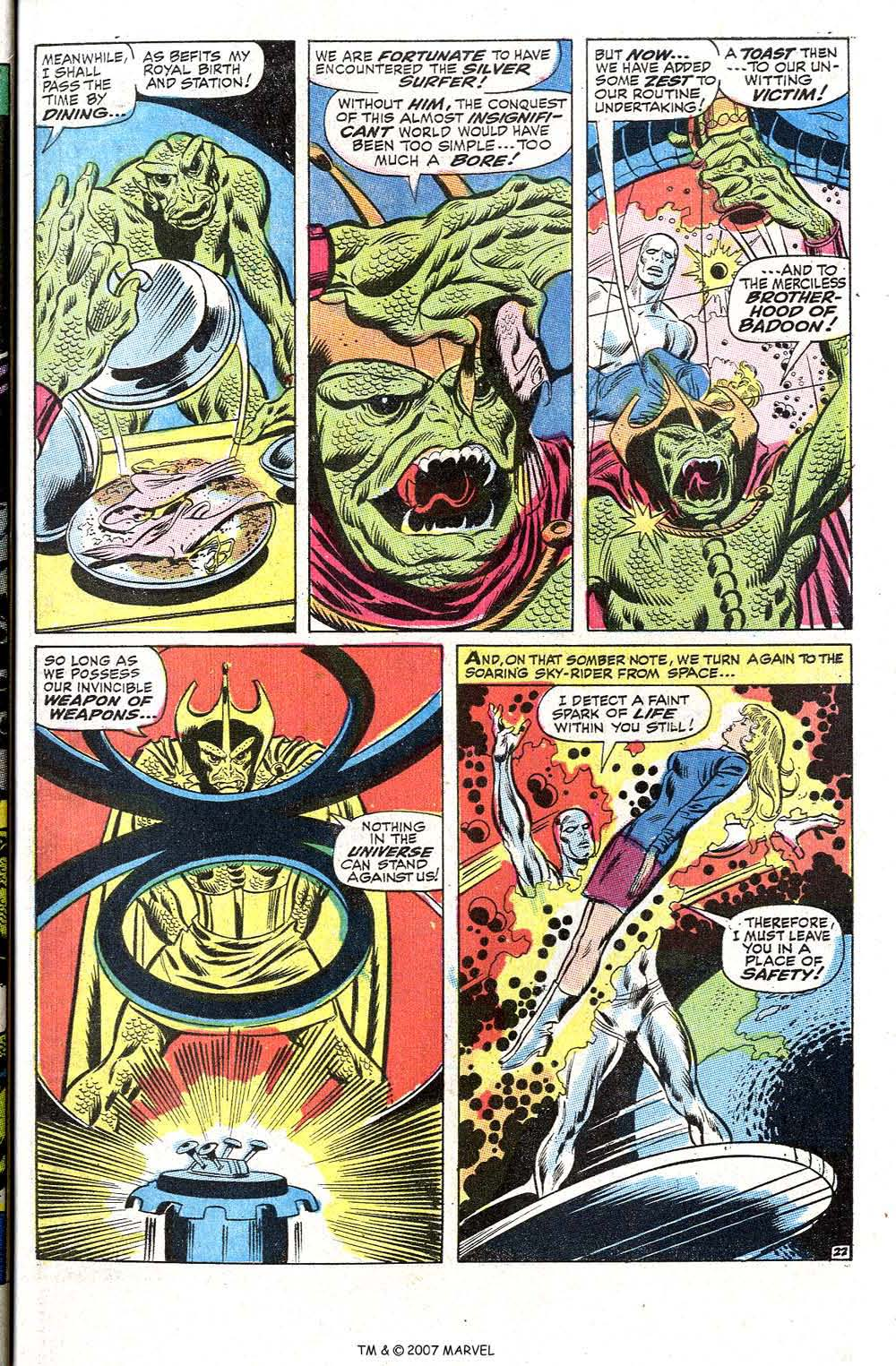 Read online Silver Surfer (1968) comic -  Issue #2 - 29
