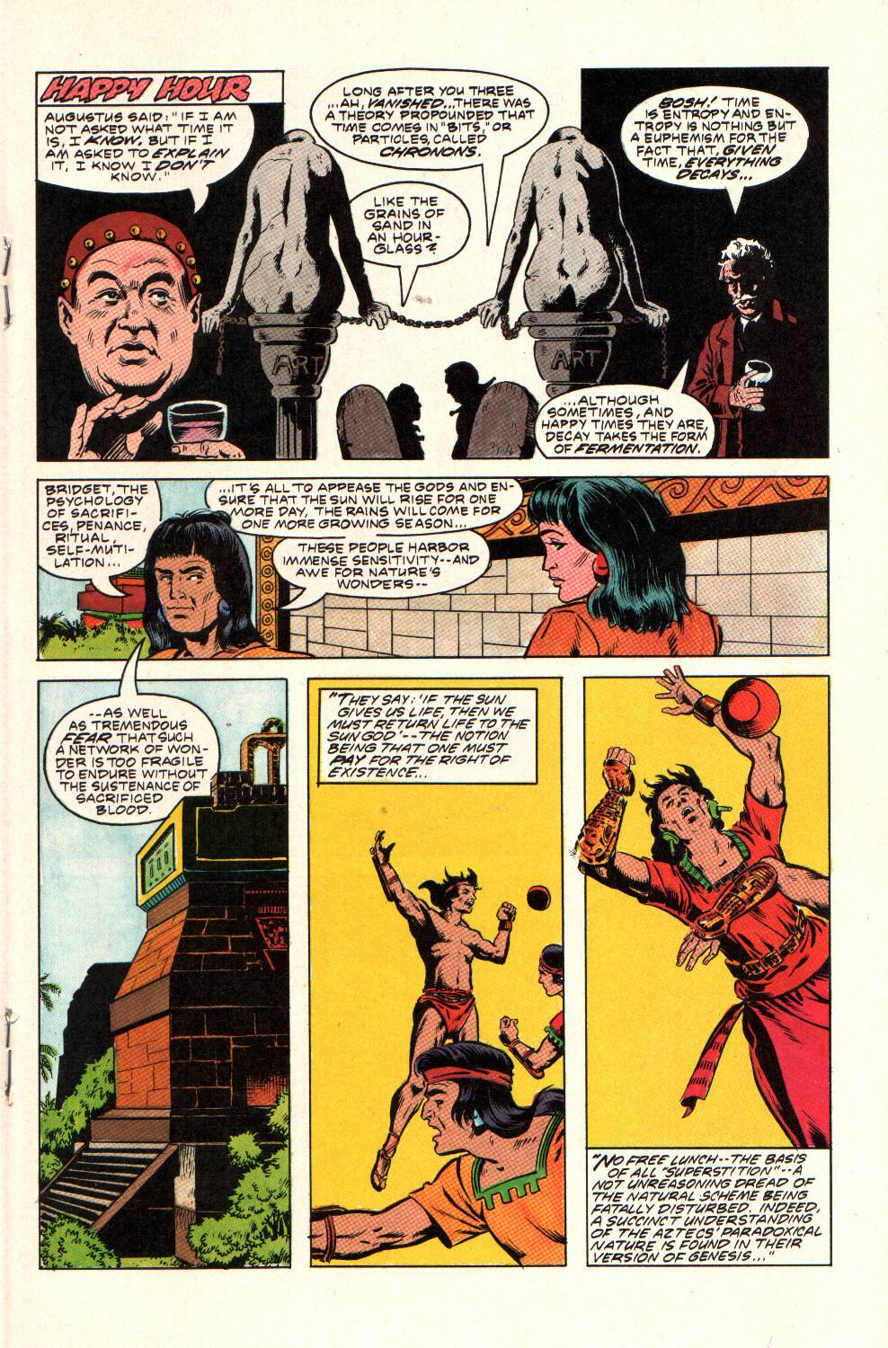 Read online Aztec Ace comic -  Issue #9 - 19