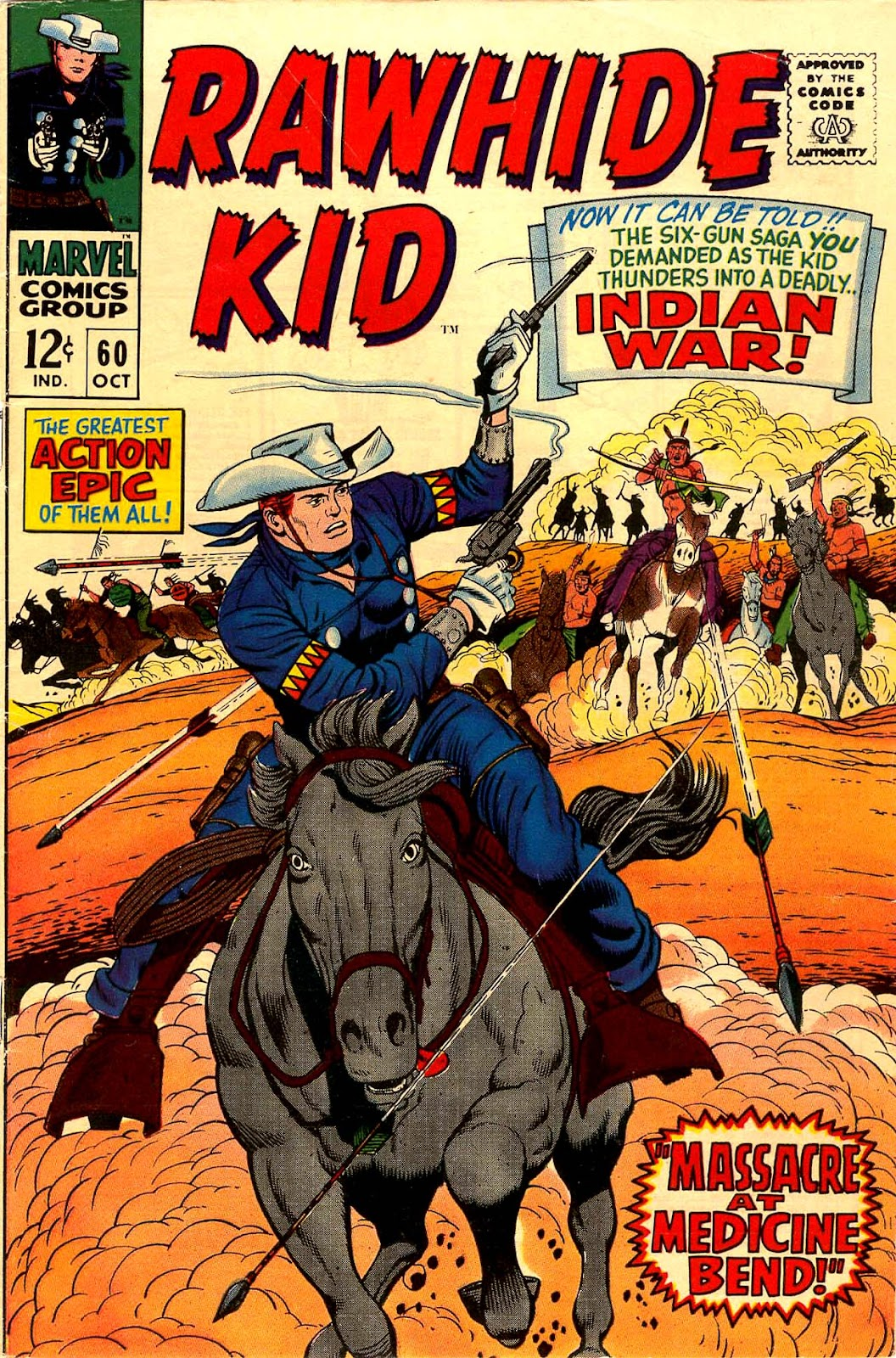 The Rawhide Kid (1955) issue 60 - Page 1