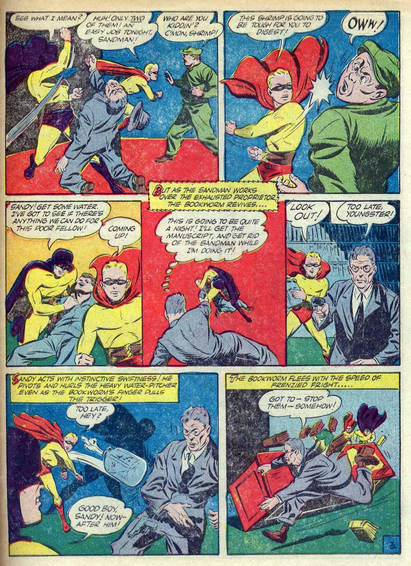 Read online Adventure Comics (1938) comic -  Issue #70 - 61