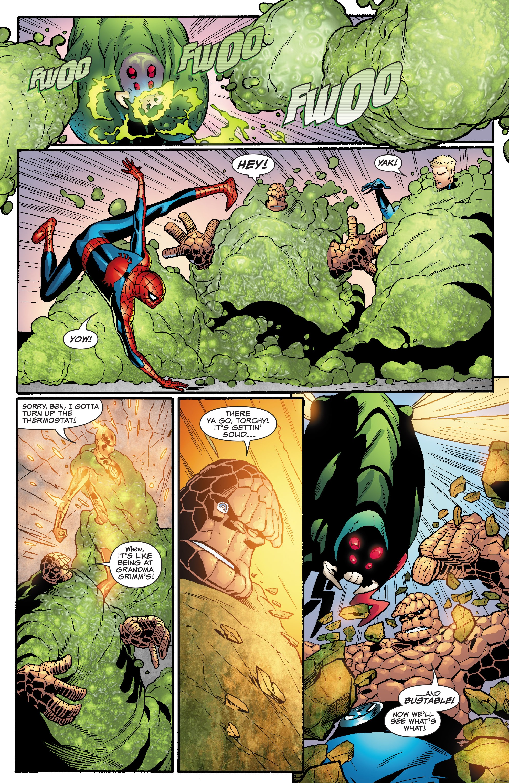 Spider-Man and the Fantastic Four issue 3 - Page 6