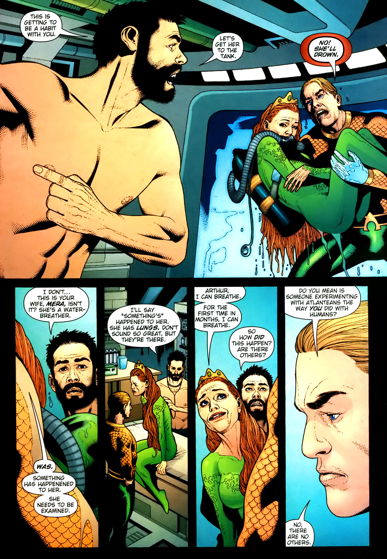 Read online Aquaman (2003) comic -  Issue #35 - 2