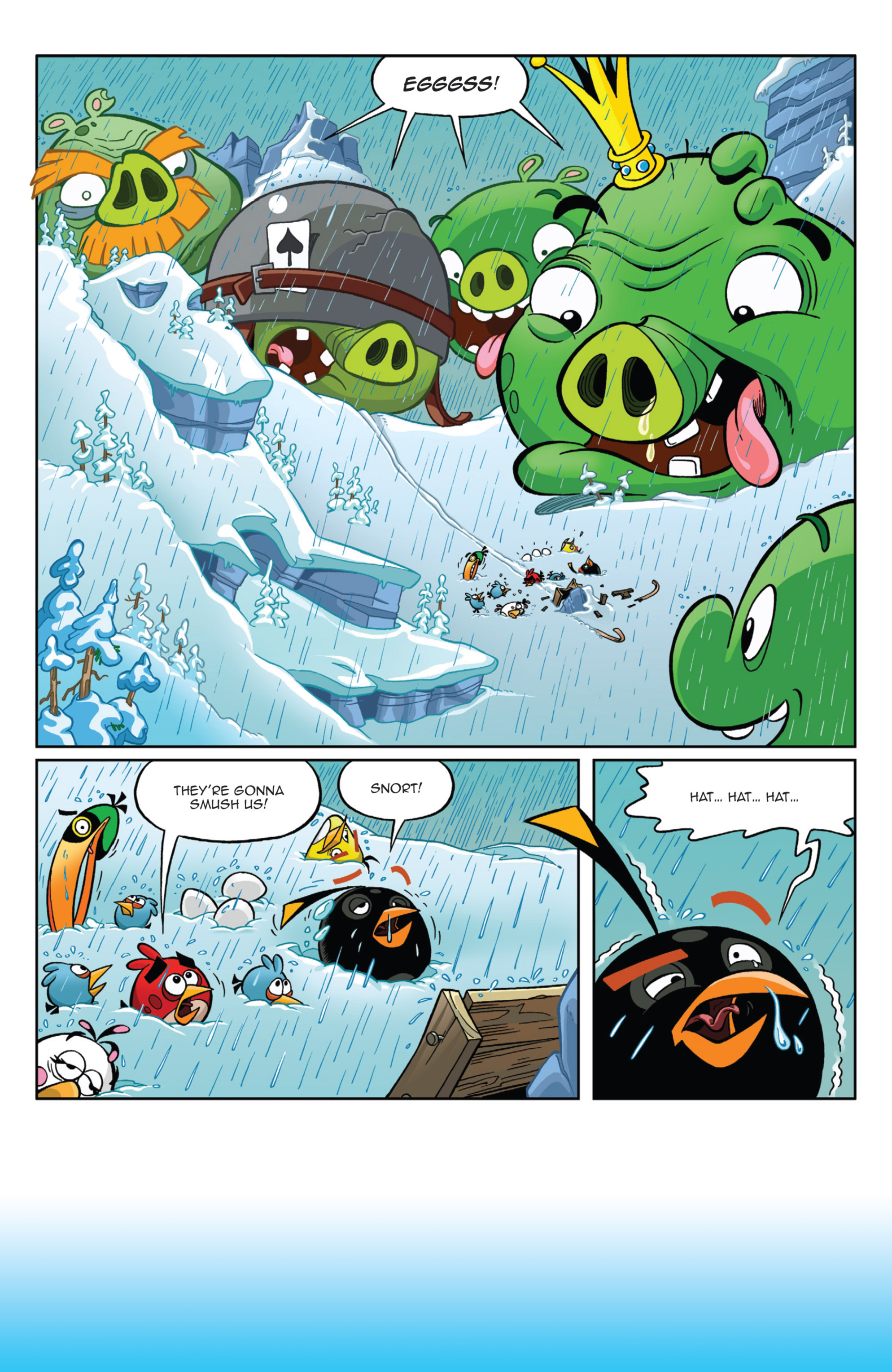 Read online Angry Birds Comics (2014) comic -  Issue #9 - 14