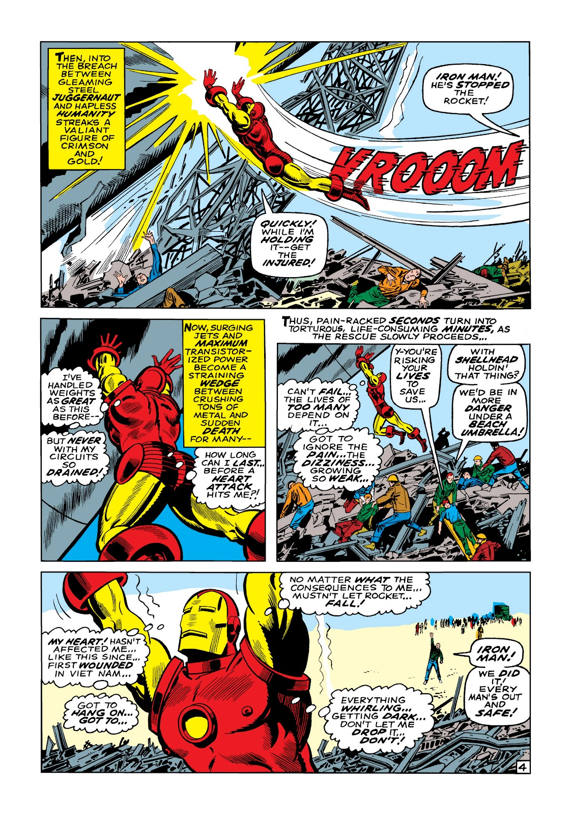Read online Marvel Masterworks: The Invincible Iron Man comic -  Issue # TPB 5 (Part 1) - 32