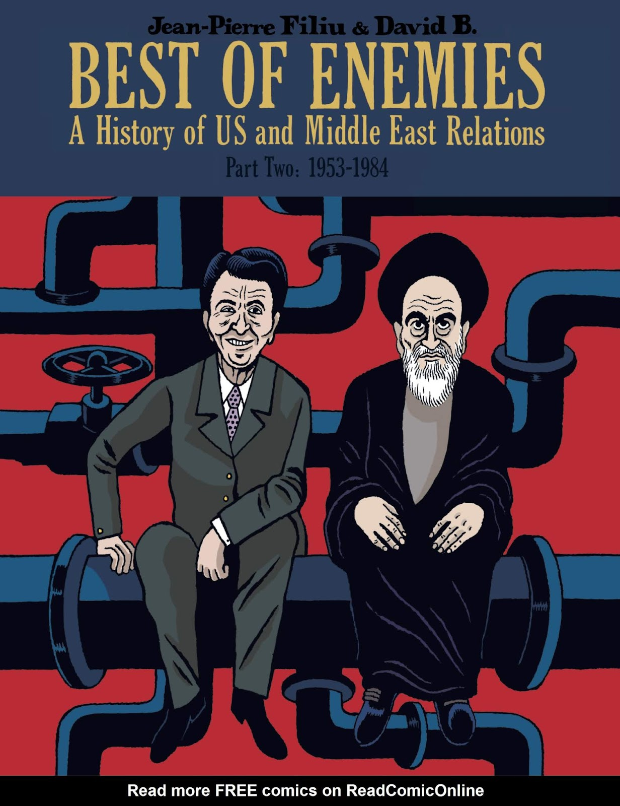 Best of Enemies: A History of US and Middle East Relations issue TPB_2 - Page 1