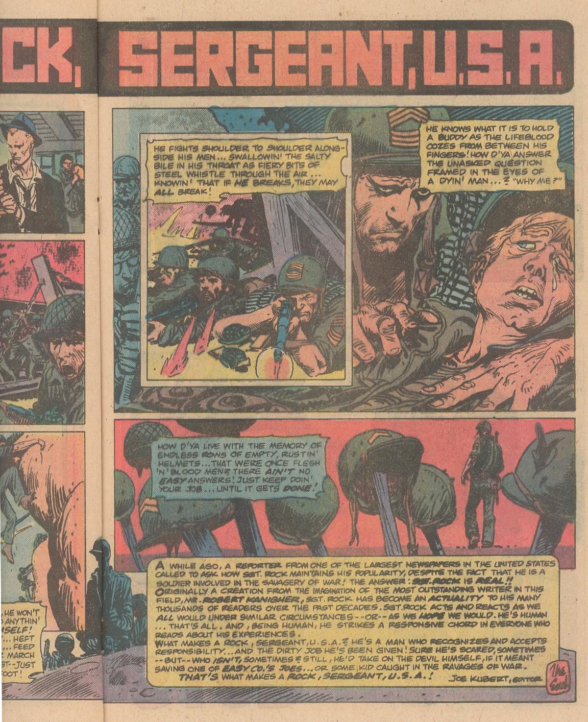 Read online Sgt. Rock comic -  Issue #356 - 16