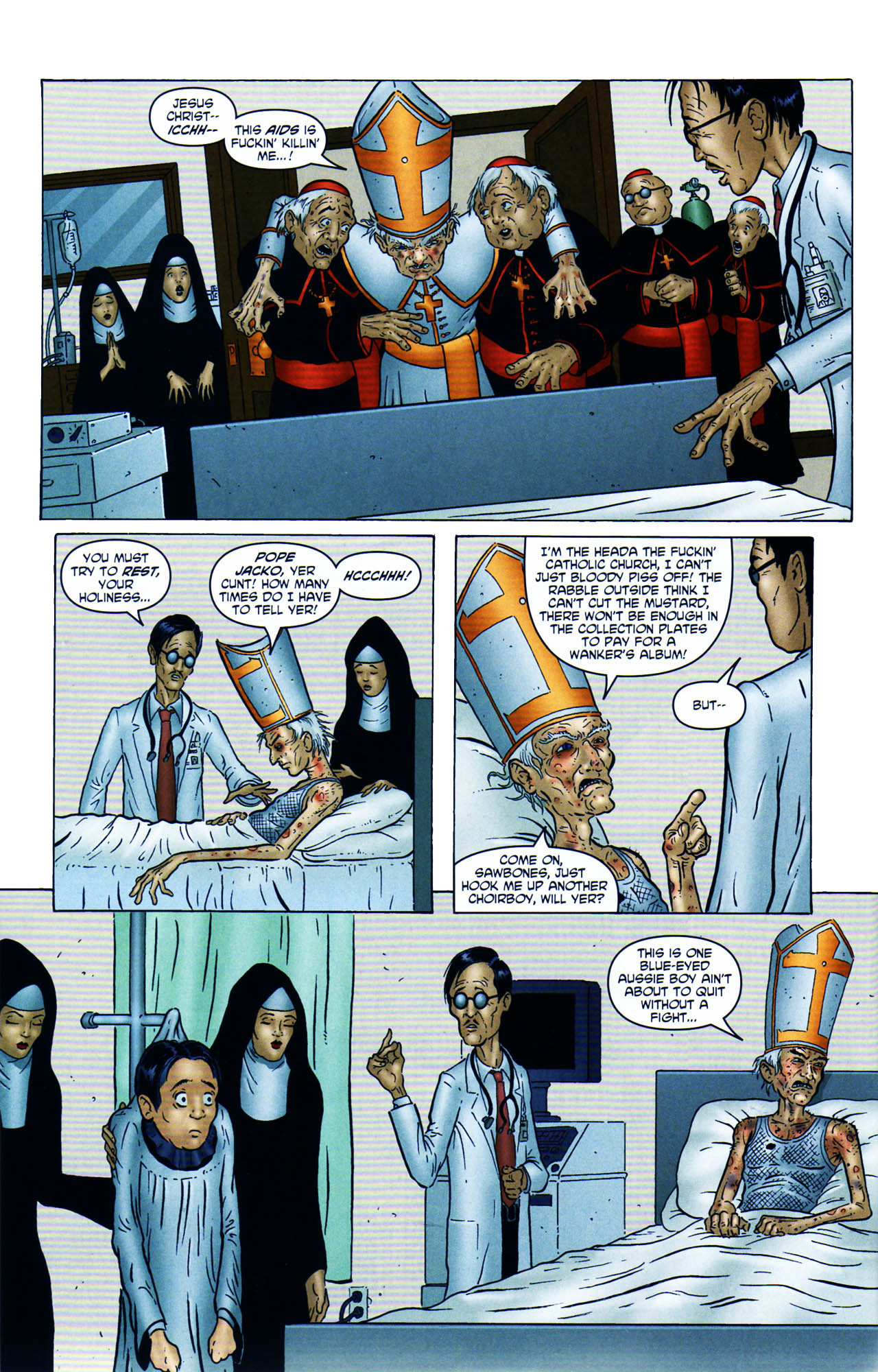 Read online Chronicles of Wormwood: The Last Enemy comic -  Issue # Full - 10