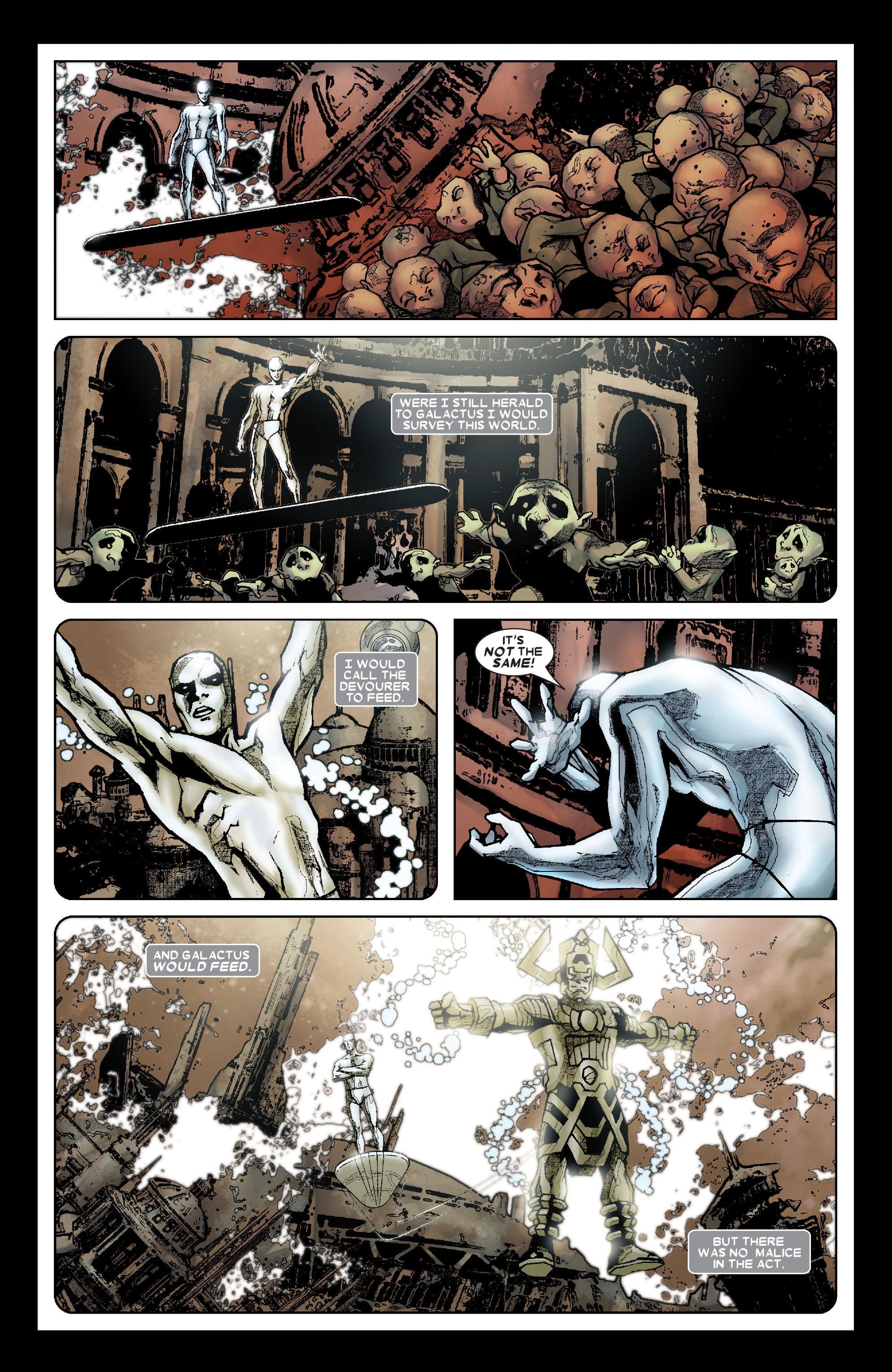 Read online Annihilation: Silver Surfer comic -  Issue #1 - 21
