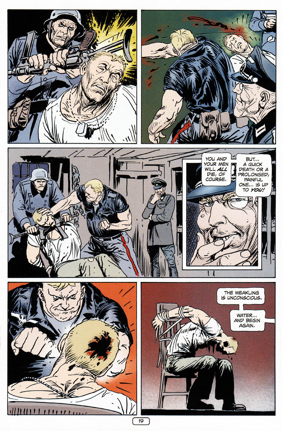 Read online Sgt. Rock: The Prophecy comic -  Issue #3 - 20