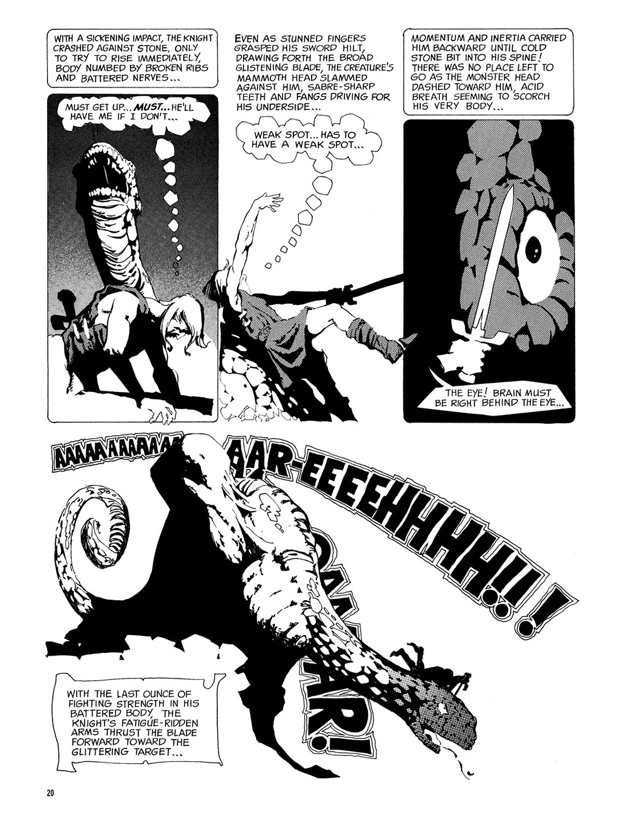 Read online Eerie Archives comic -  Issue # TPB 3 - 21