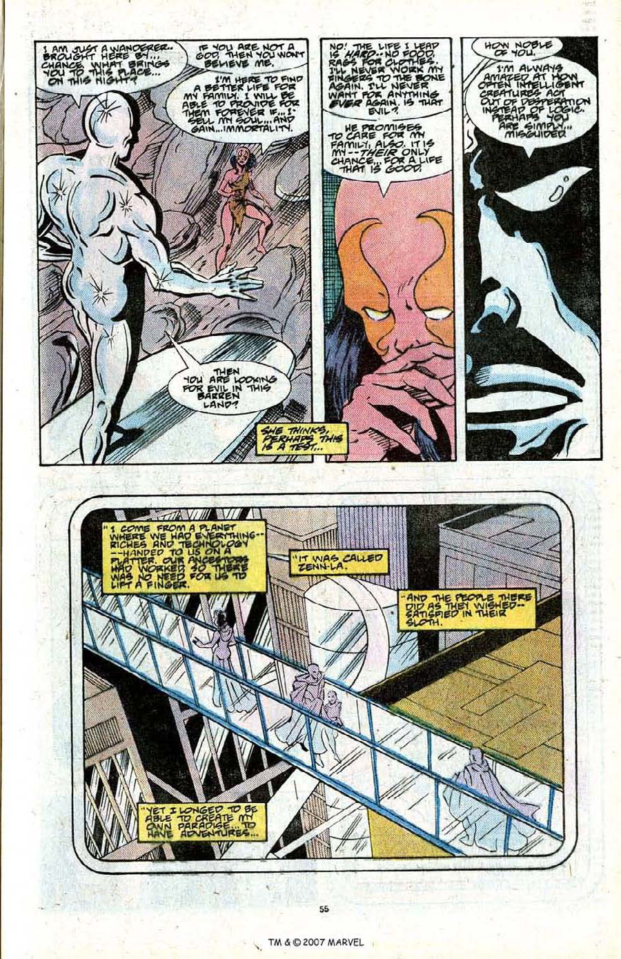 Read online Silver Surfer (1987) comic -  Issue # _Annual 2 - 57